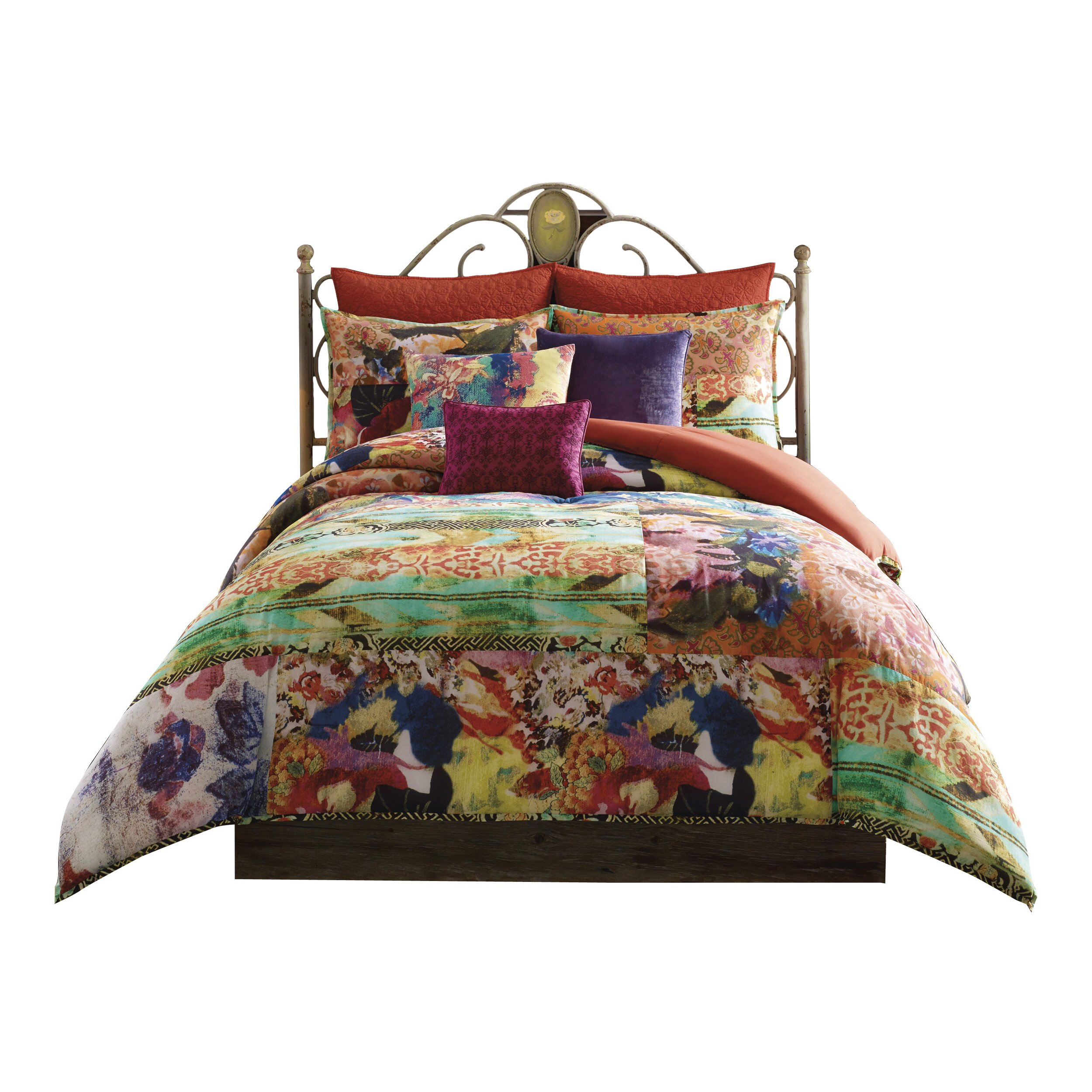 Pem America Willow 3 Piece Reversible Comforter Set