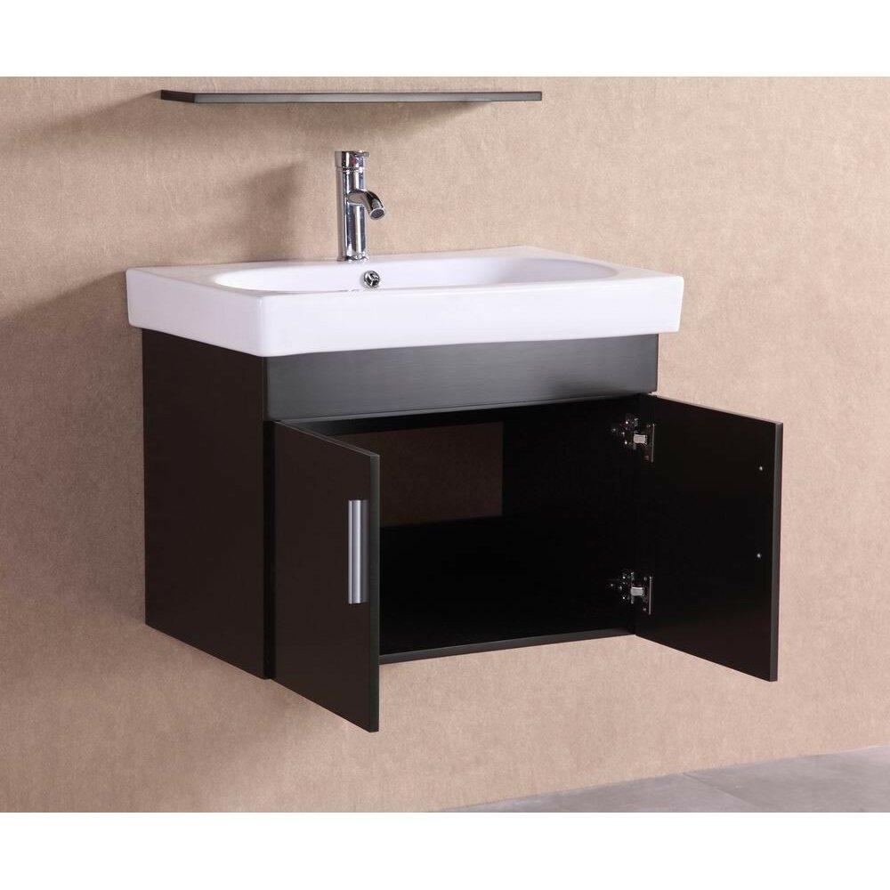 Belvederebath 28 Single Modern Bathroom Vanity Set