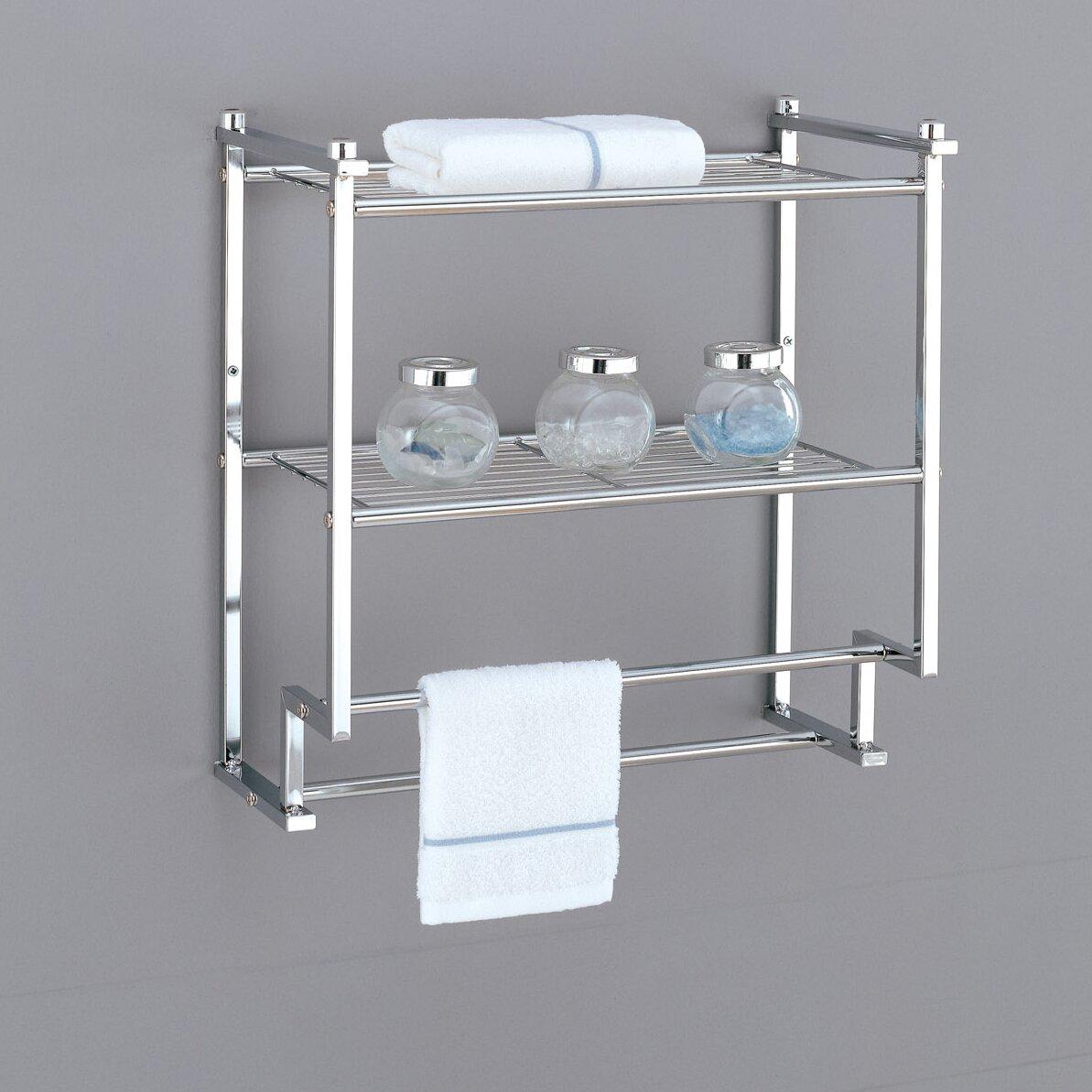 oia metro wall mounted towel rack reviews wayfair. Black Bedroom Furniture Sets. Home Design Ideas