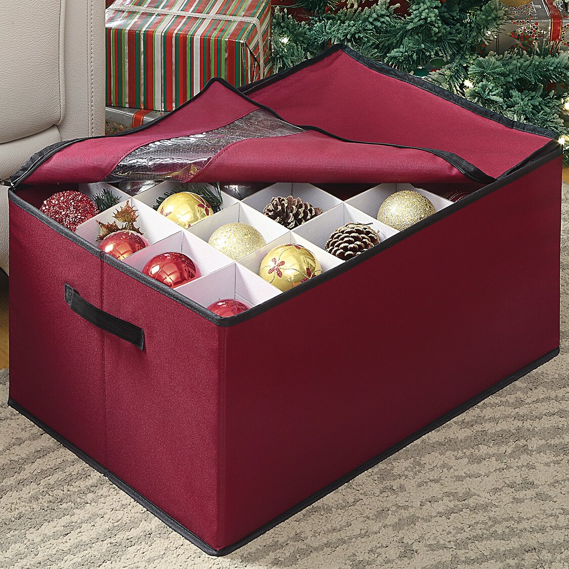 OIA Christmas Ornament Storage Box & Reviews | Wayfair