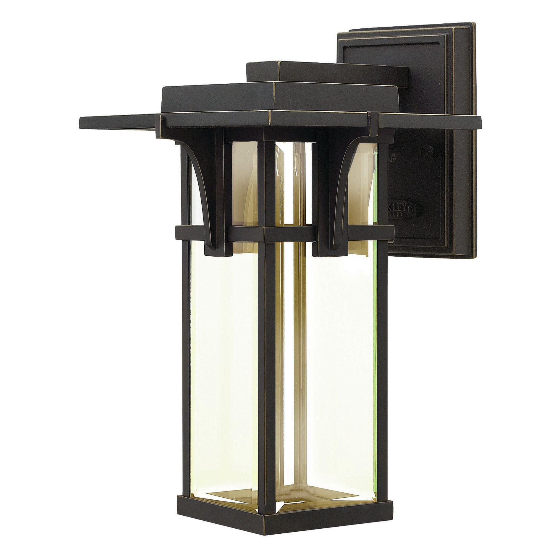 Lantern Wall Light Outdoor : Hinkley Lighting Manhattan 1 Light Outdoor Wall Lantern & Reviews Wayfair