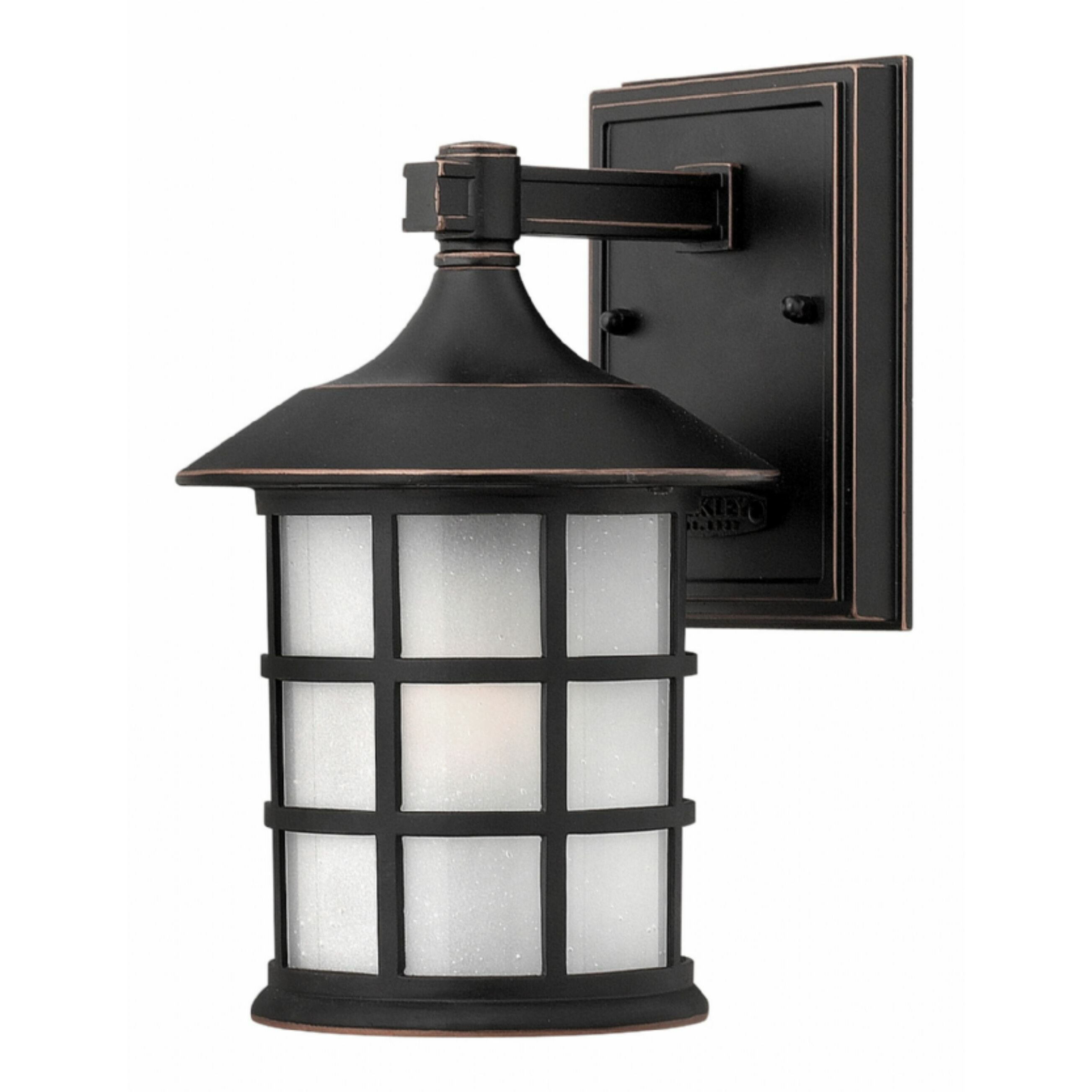 Lantern Wall Light Outdoor : Hinkley Lighting Freeport 1 Light Outdoor Wall Lantern & Reviews Wayfair