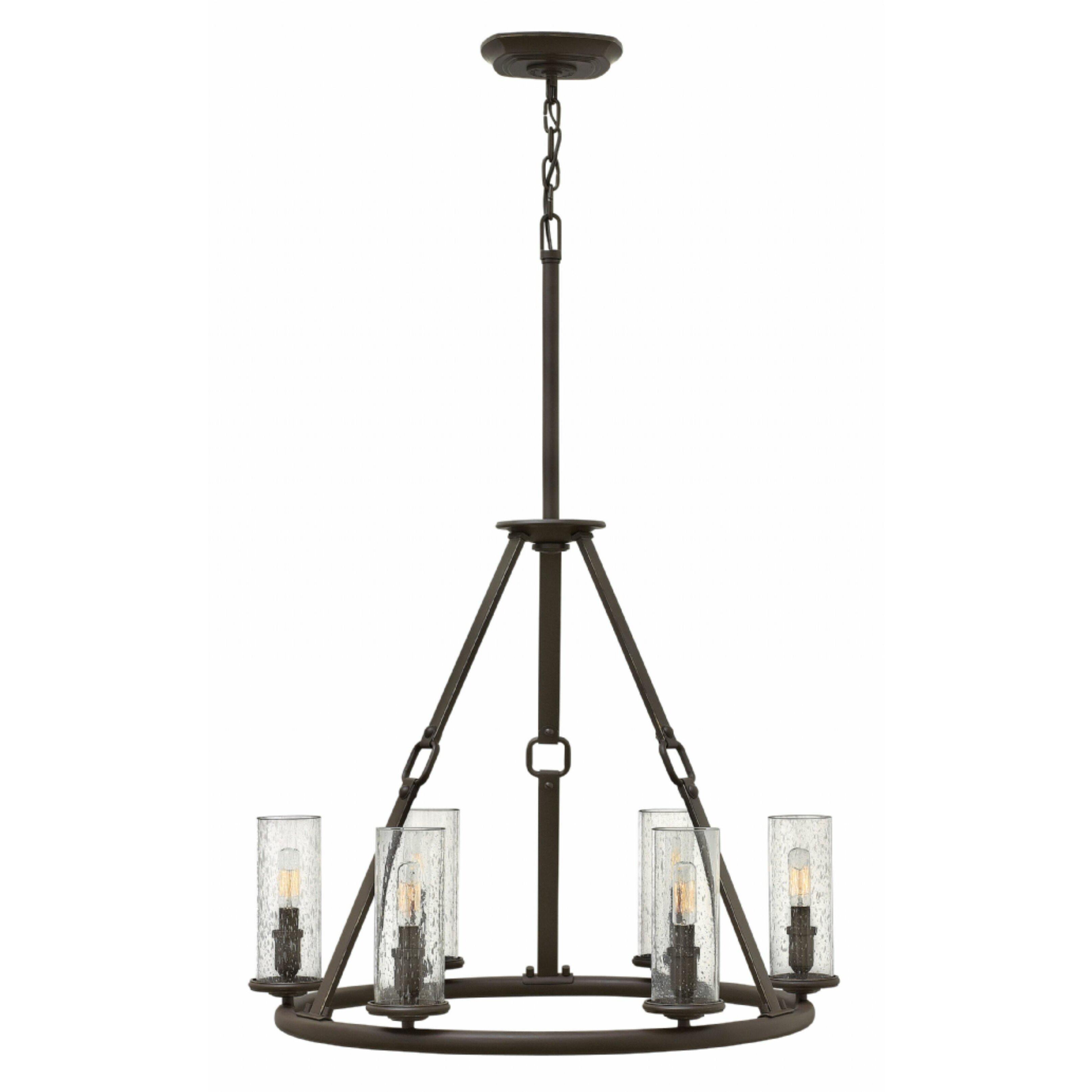Hinkley Lighting Dakota 6 Light Candle Chandelier Reviews Wayfair