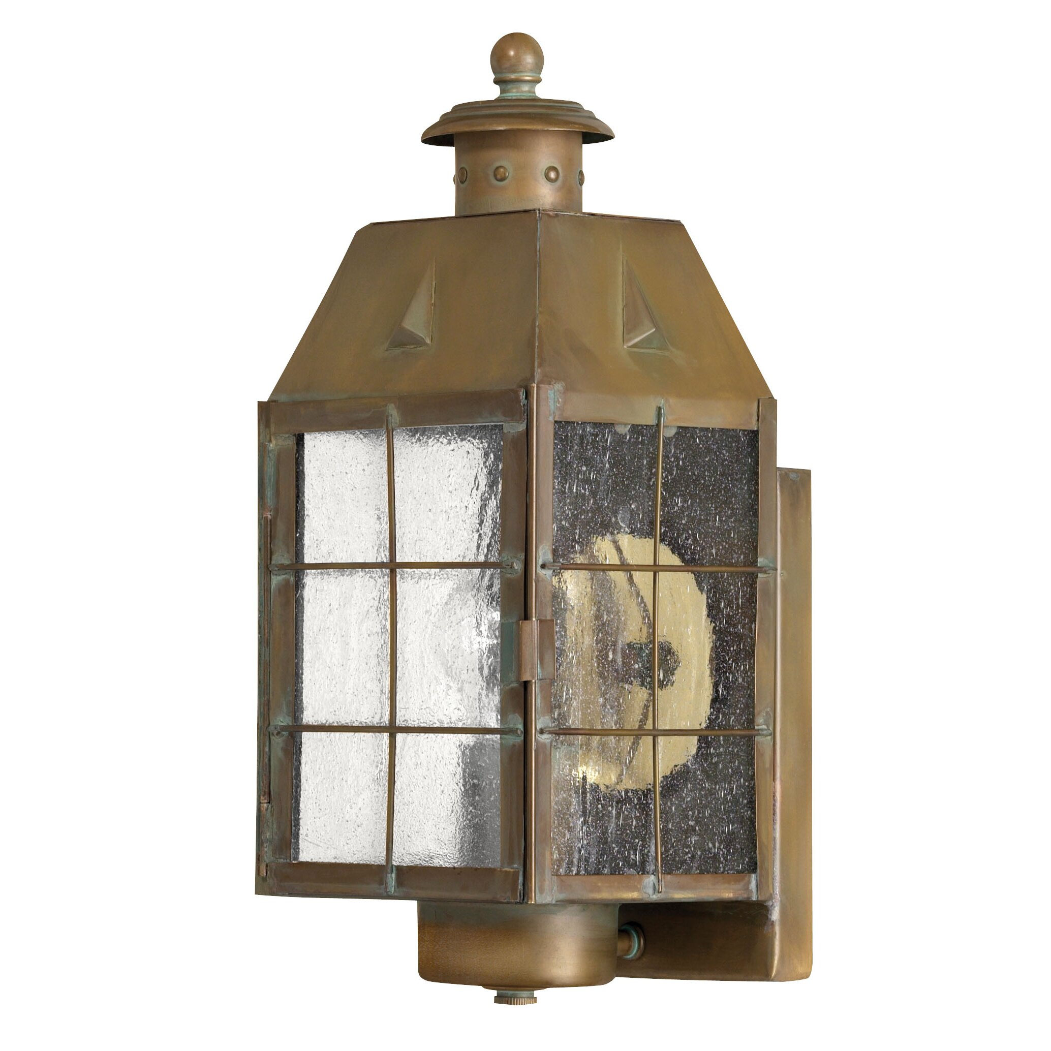 Wayfair Outdoor Wall Lights : Hinkley Lighting Nantucket 1 Light Outdoor Wall Lantern & Reviews Wayfair