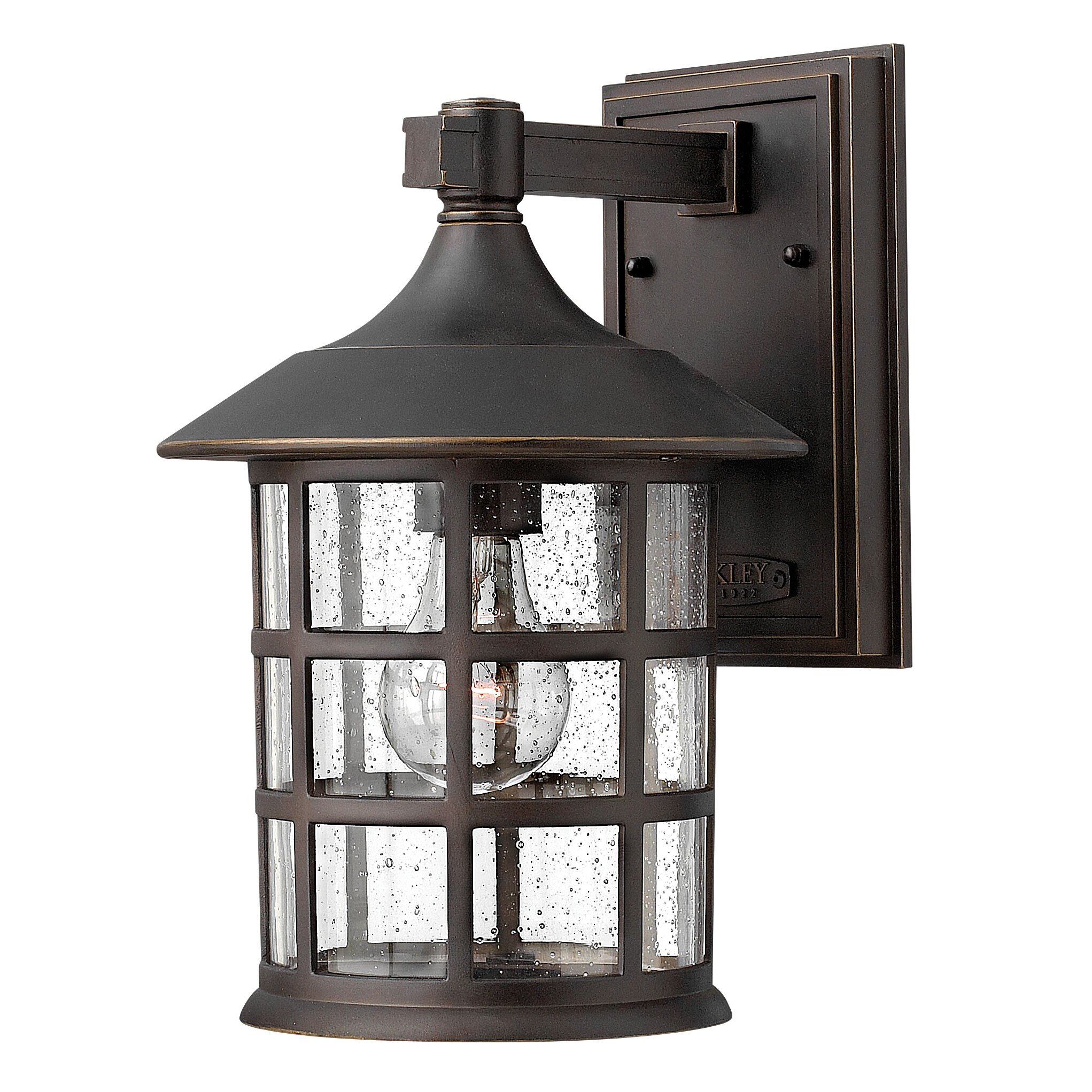 Hinkley lighting freeport 1 light outdoor wall lantern for Outdoor sconce lighting fixtures