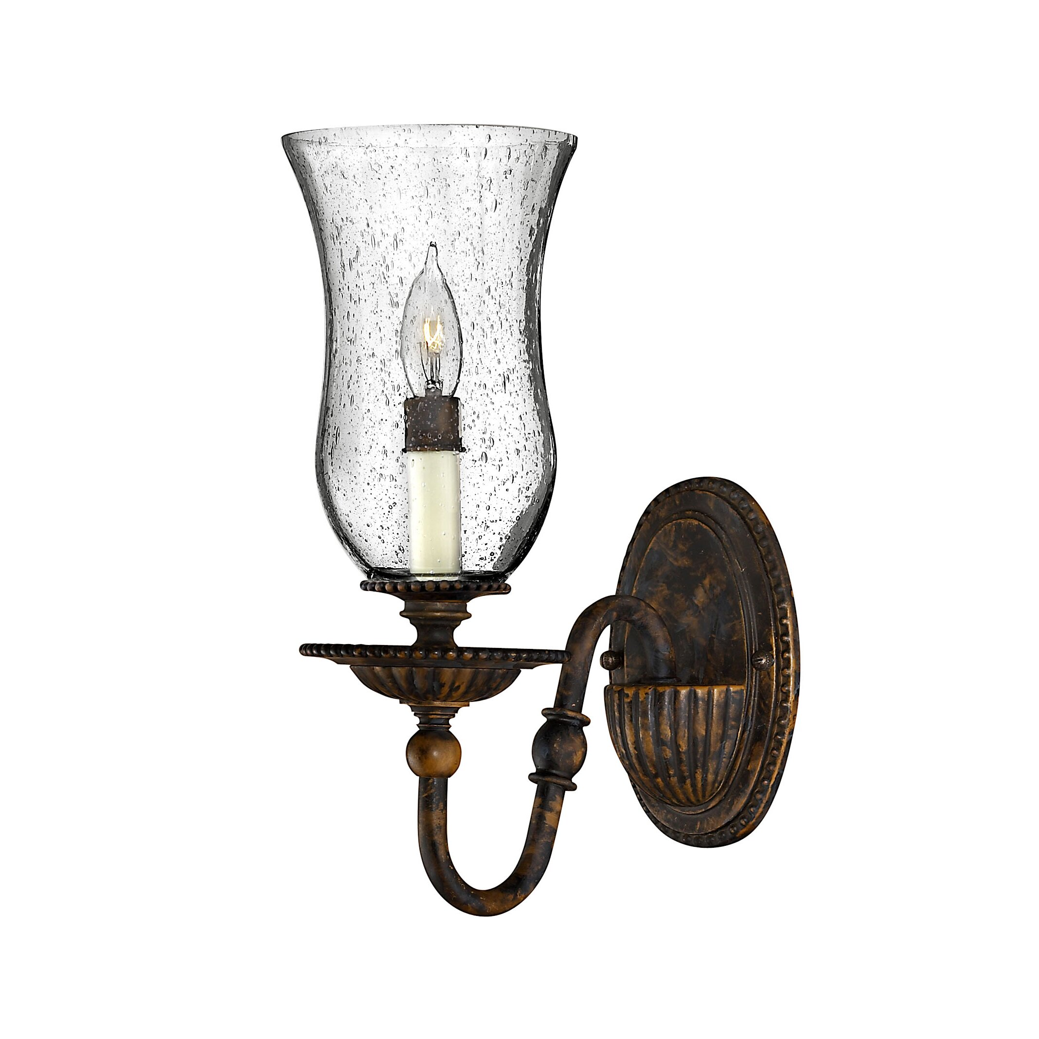 Wall Sconce With Magnifying Glass : Hinkley Lighting Rockford 1 Light Wall Sconce & Reviews Wayfair