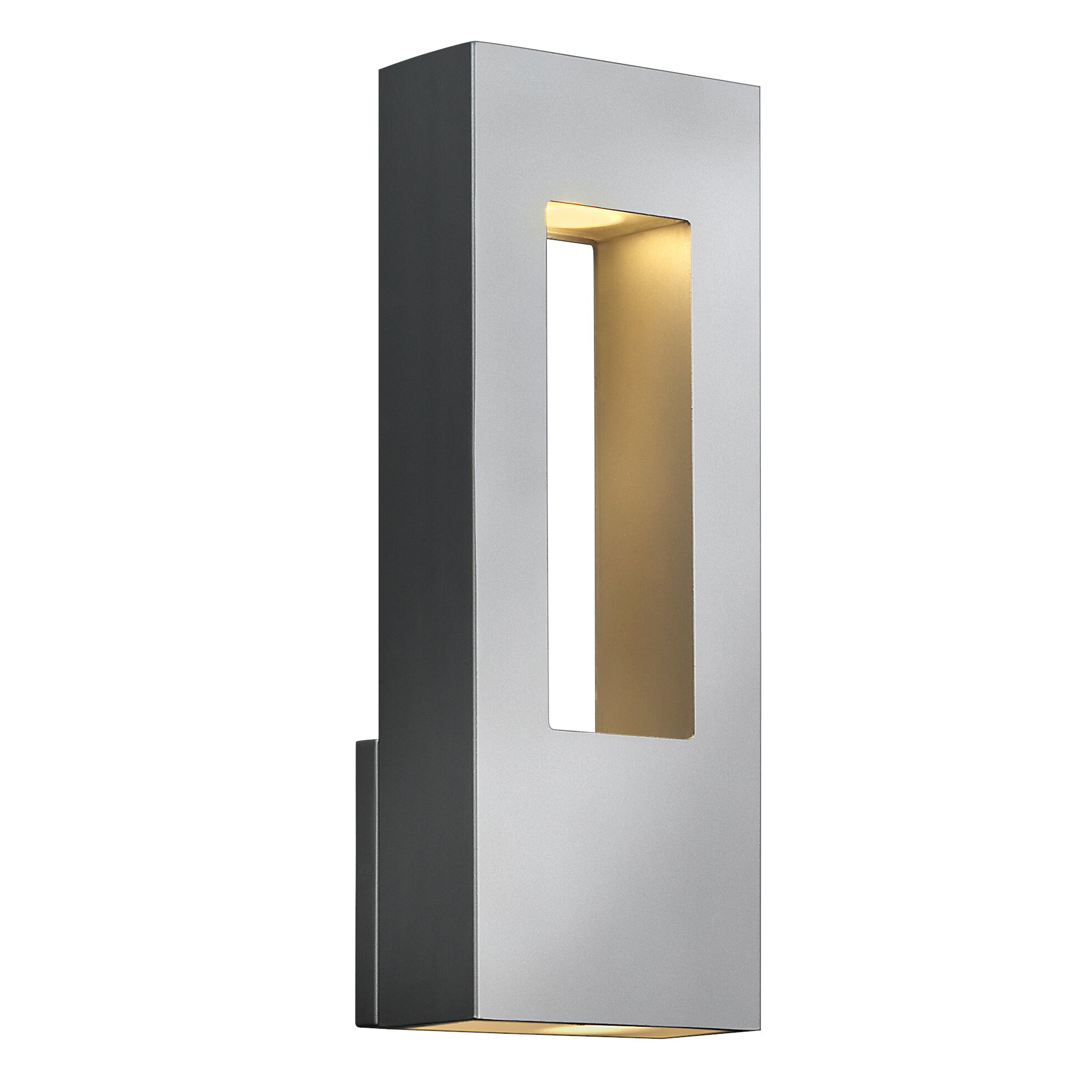 Hinkley lighting atlantis 2 light outdoor sconce reviews wayfair for Exterior light sconce