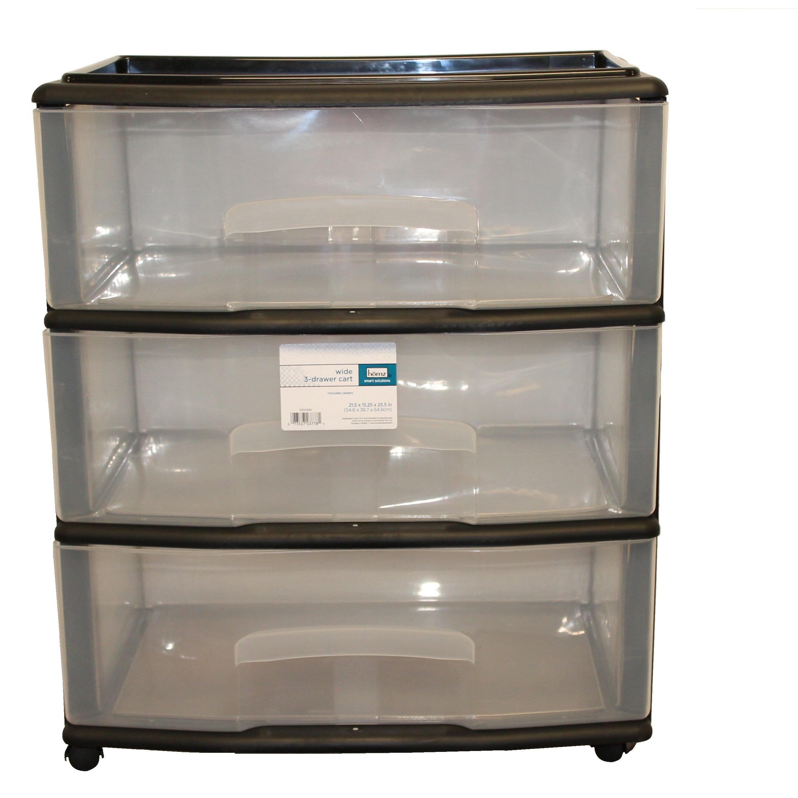 Homz Homz 3 Drawer Storage Chest Amp Reviews Wayfair Supply