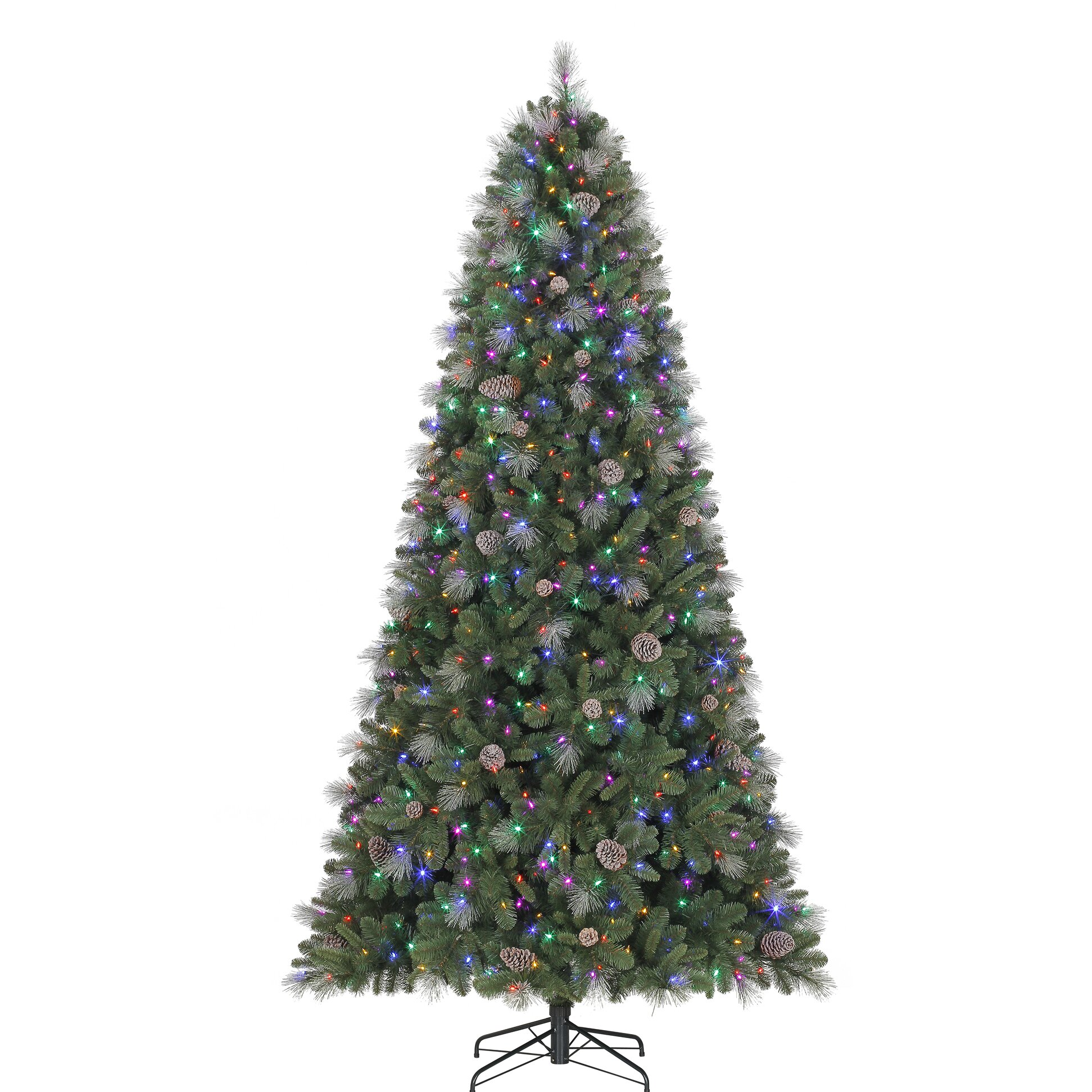 Polygroup 9 39 Green Silver Fir Artificial Christmas Tree