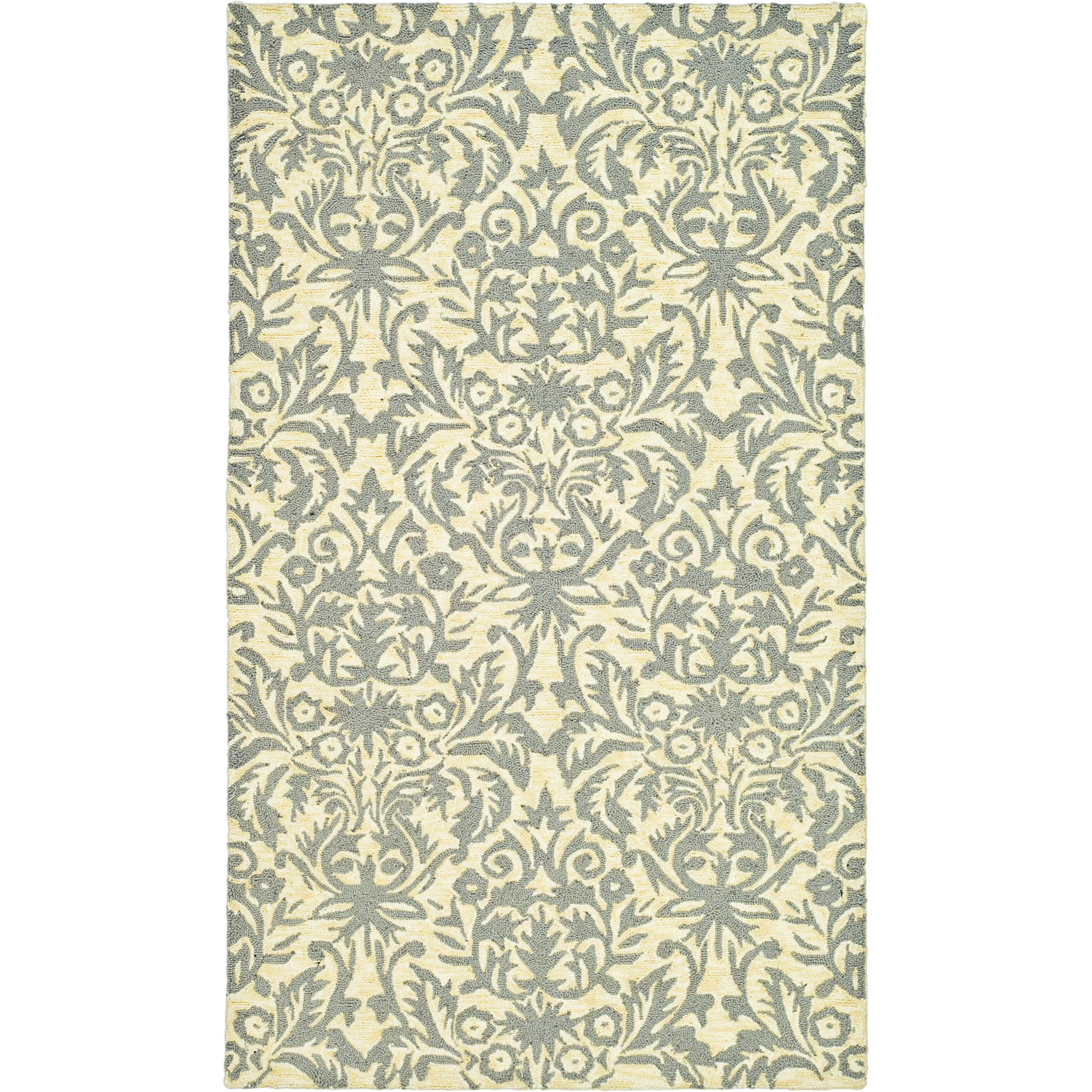 Safavieh chelsea beige yellow grey area rug reviews for Grey and tan rug
