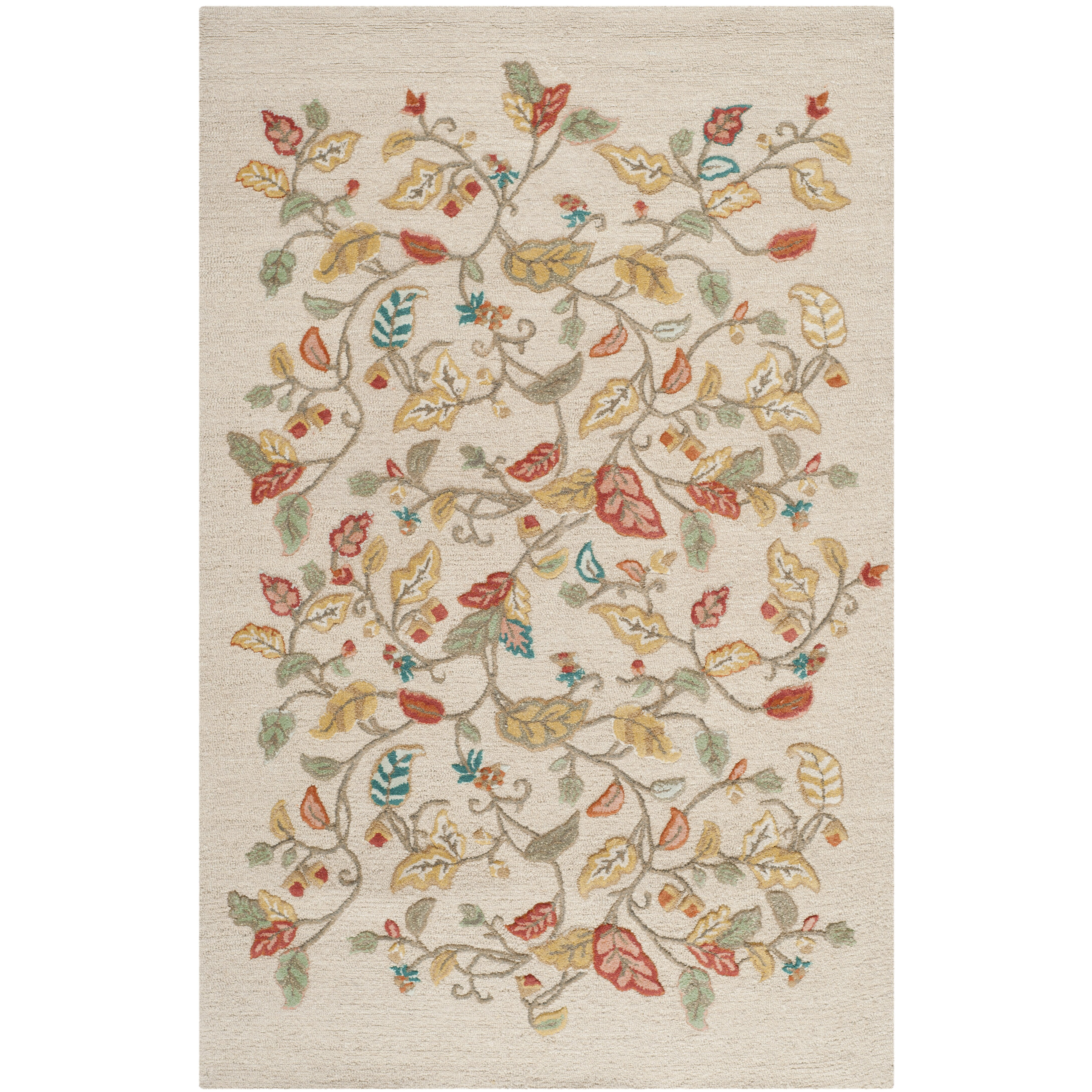 Safavieh martha stewart persimmon red area rug reviews for Martha stewart rugs home decorators