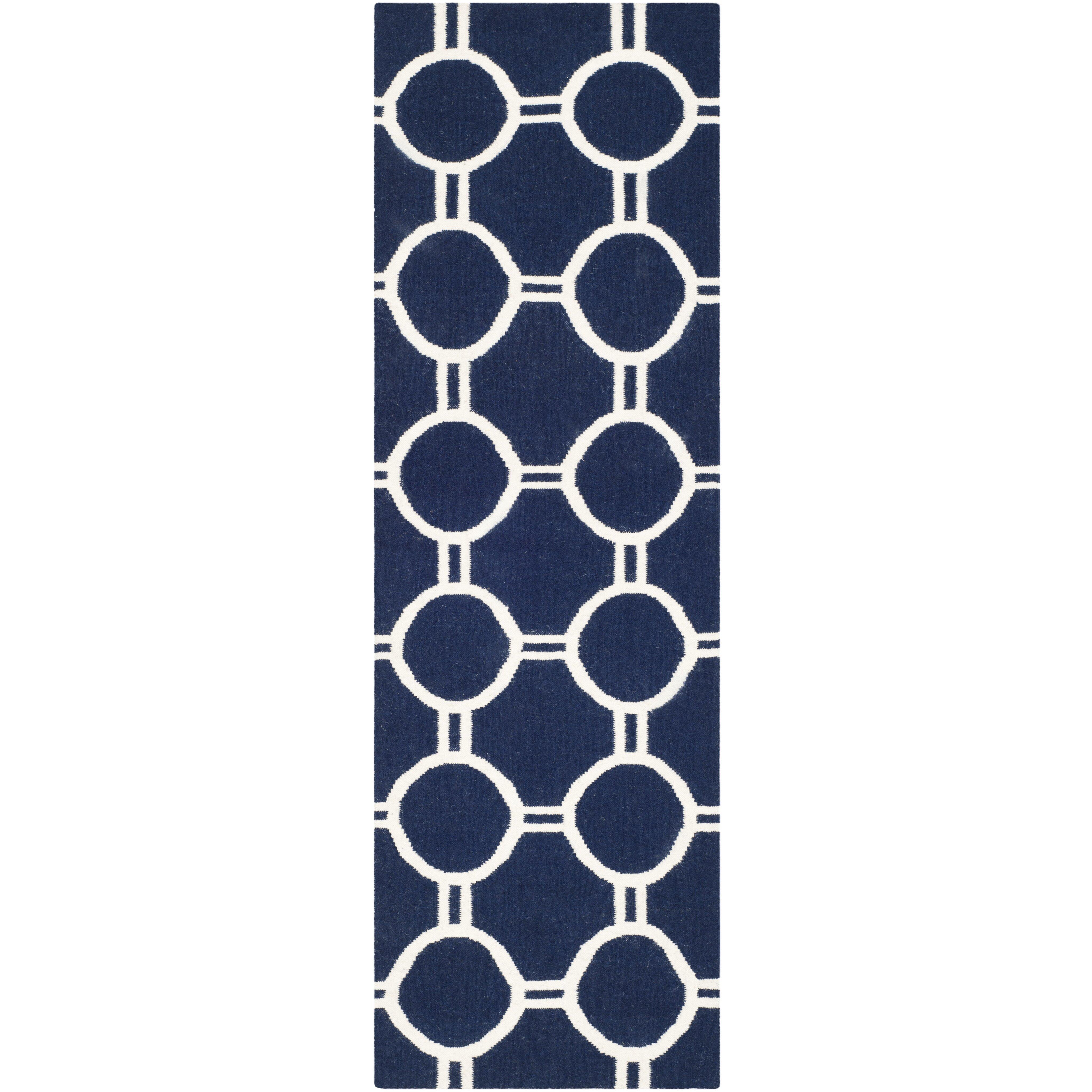 28 navy and white area rug trellis navy white area rug wayf