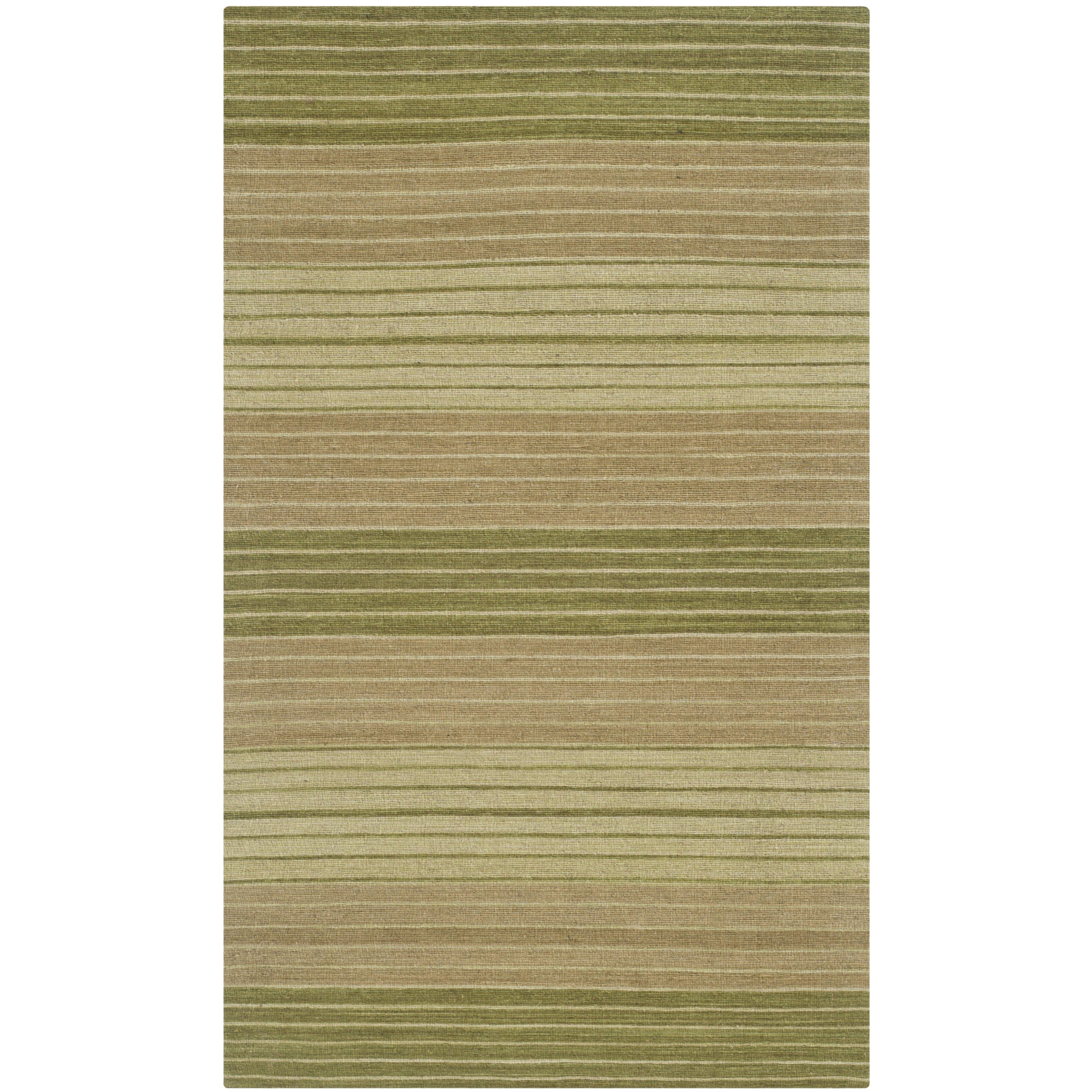 Safavieh Marbella Green Striped Area Rug Amp Reviews Wayfair