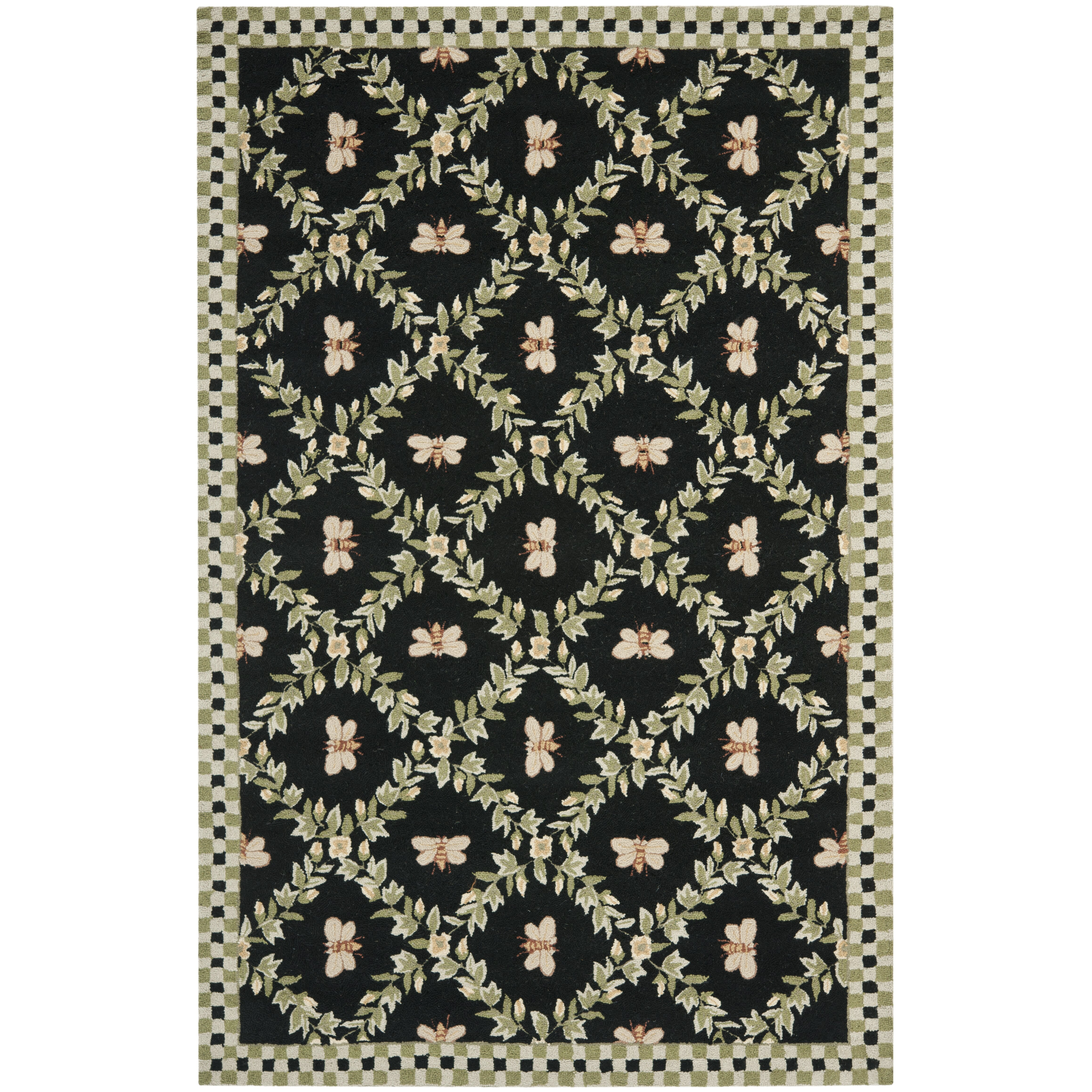 Safavieh Chelsea Bumblebee Black Novelty Rug Amp Reviews