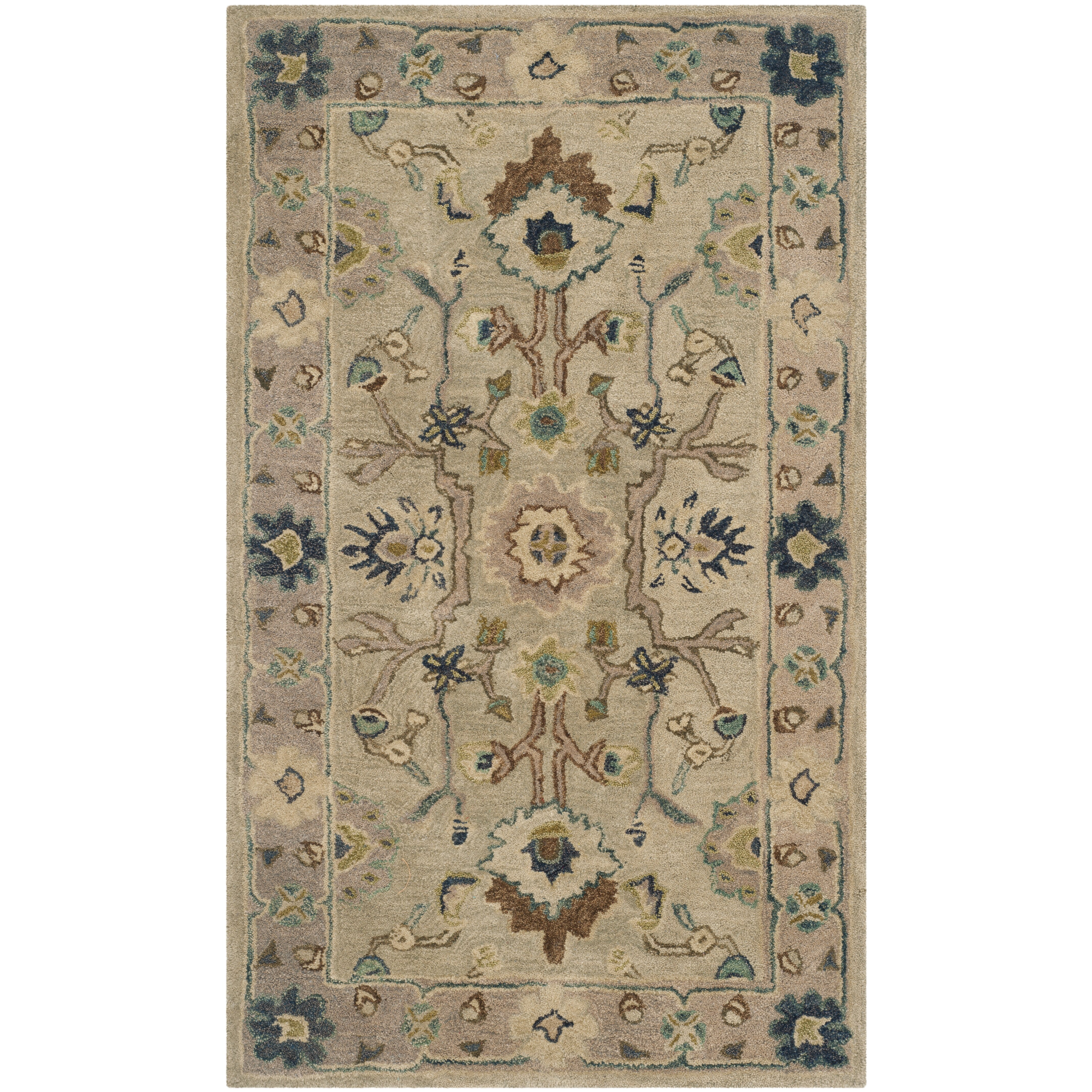 Safavieh anatolia ivory beige area rug wayfair for Safavieh rugs