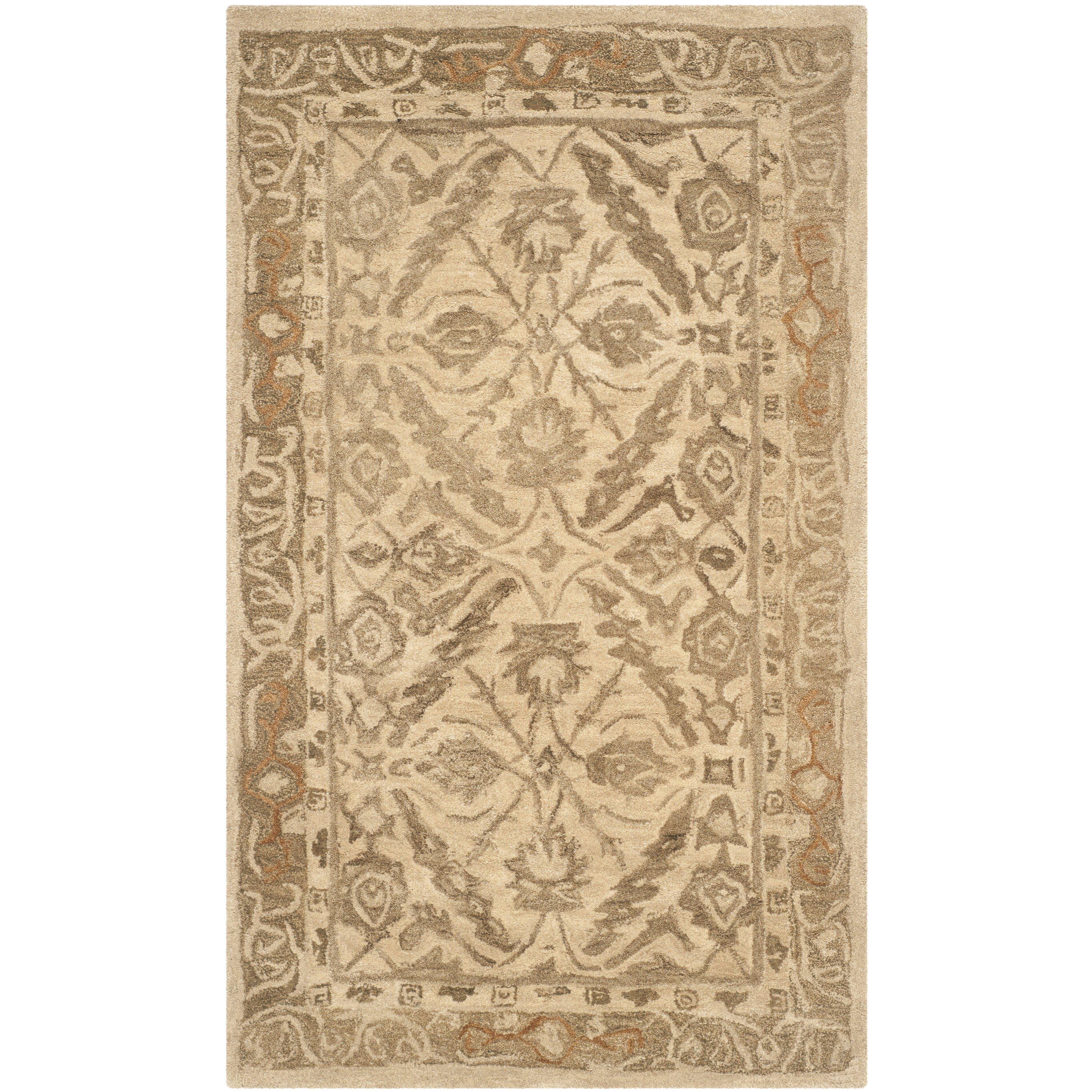 Safavieh anatolia ivory area rug reviews wayfair for Safavieh rugs