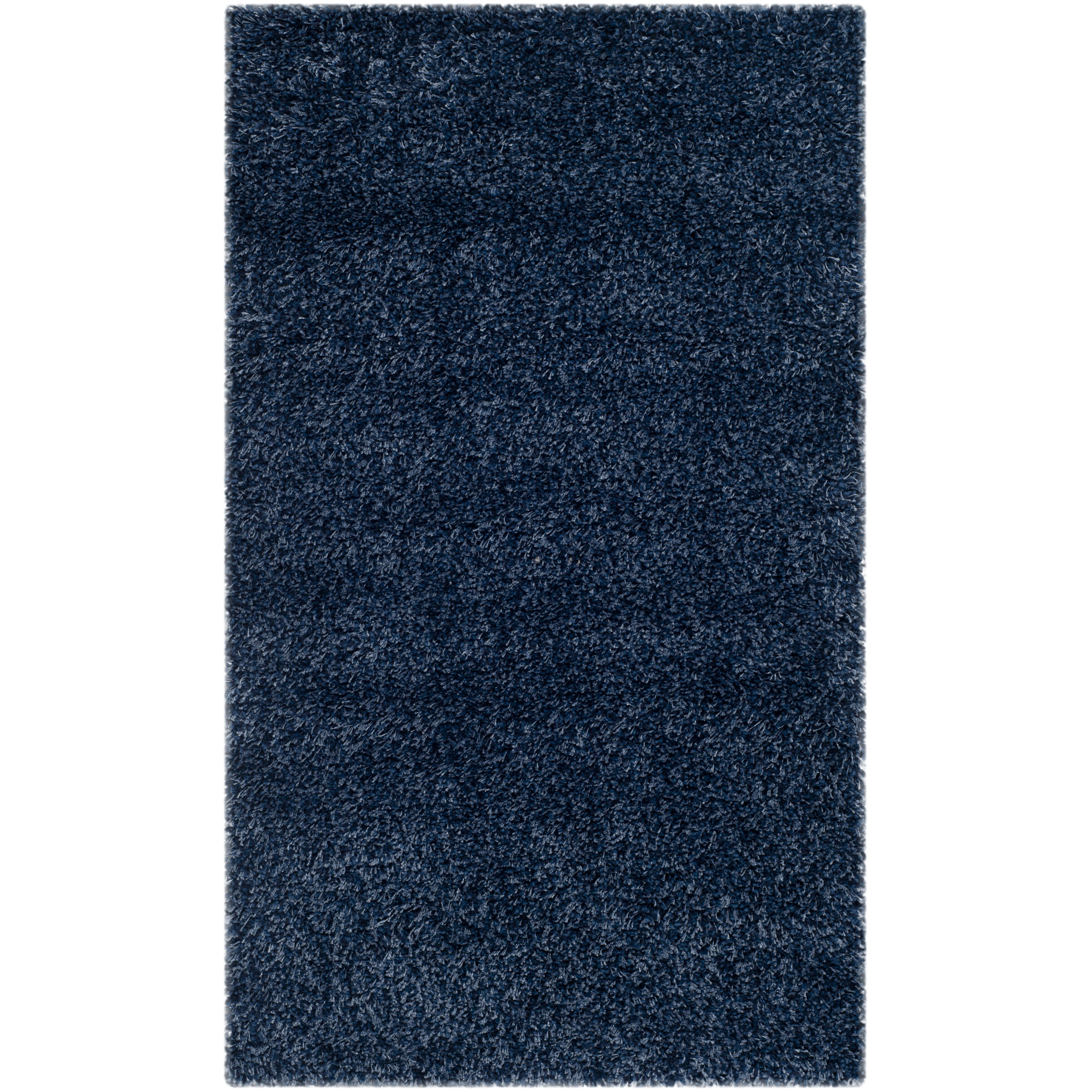 Safavieh Shag Navy Blue Solid Rug Amp Reviews Wayfair