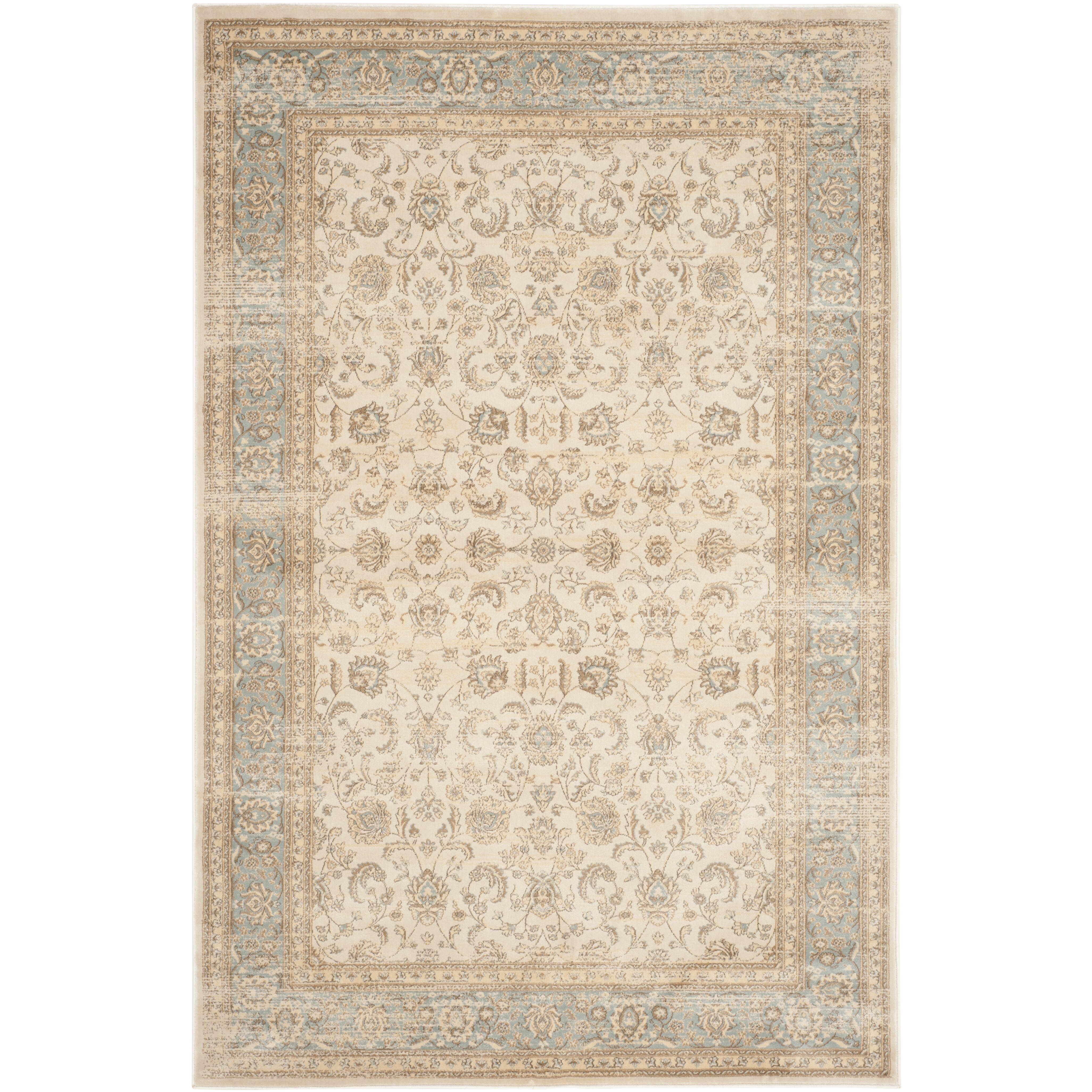 Safavieh Vintage Ivory/Light Blue Area Rug & Reviews