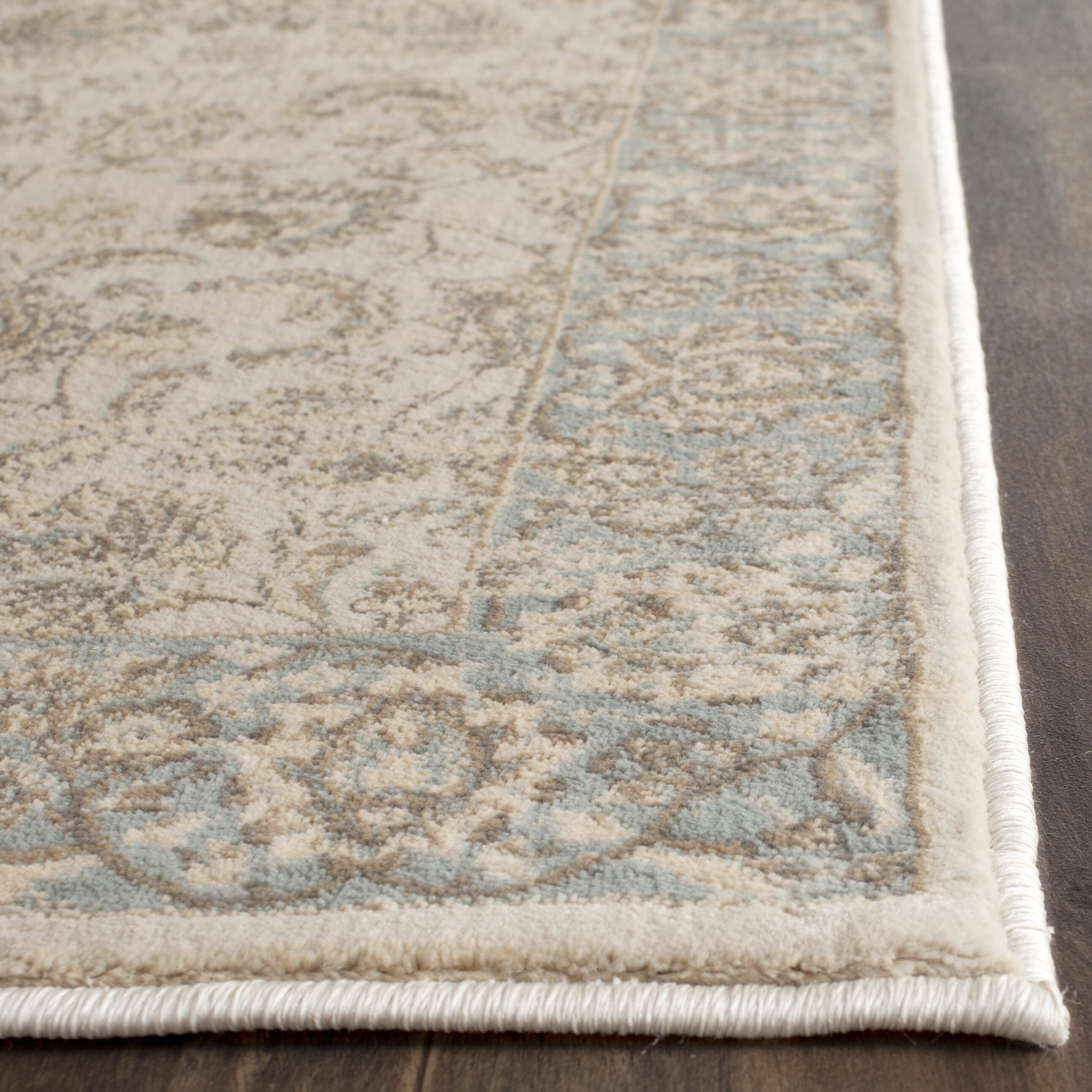 safavieh vintage ivory light blue area rug reviews wayfair