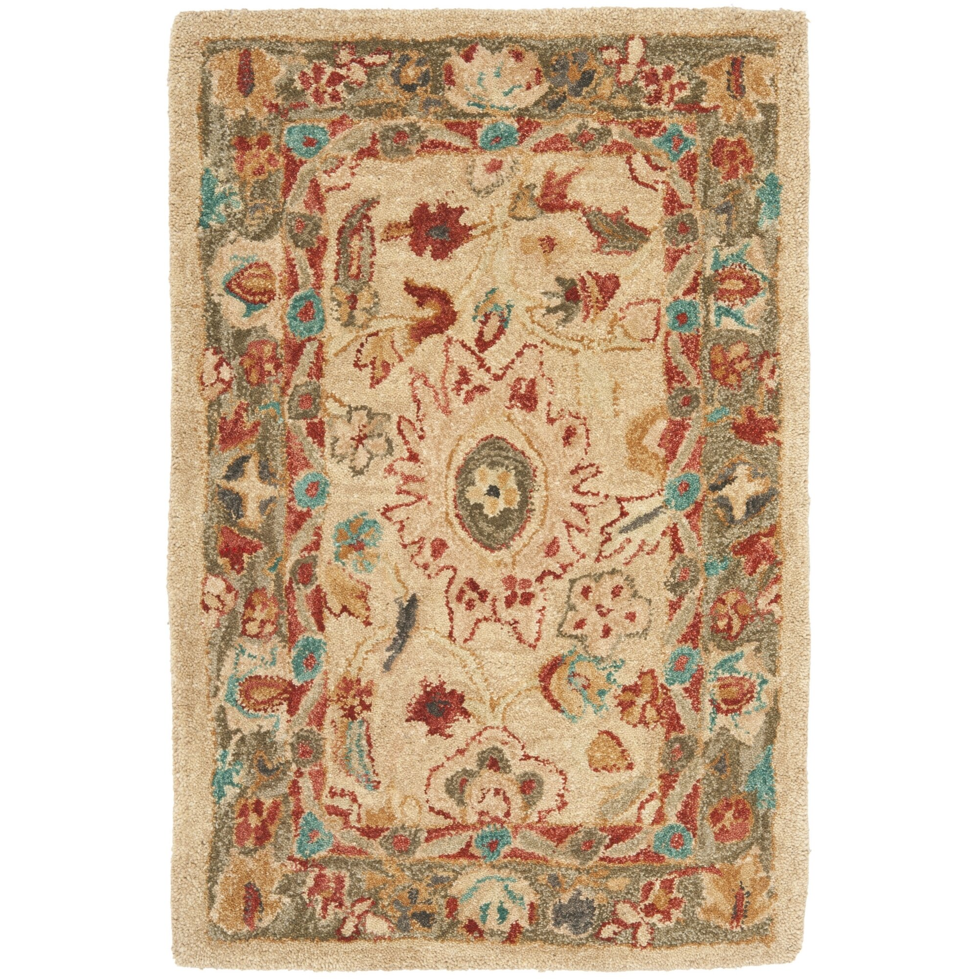 Dog Eating Wool Rug: Safavieh Anatolia Area Rug & Reviews