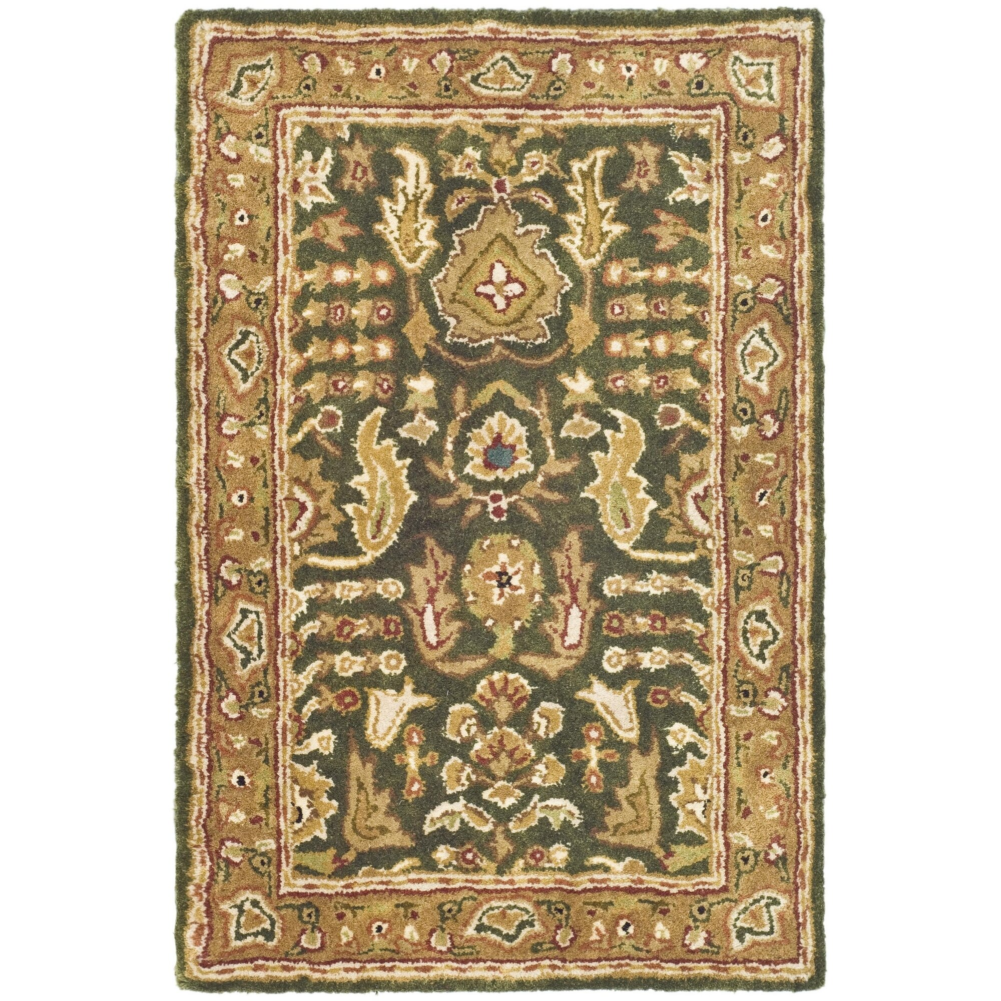 Safavieh Classic Green/Gold Tree Of Life Rug & Reviews