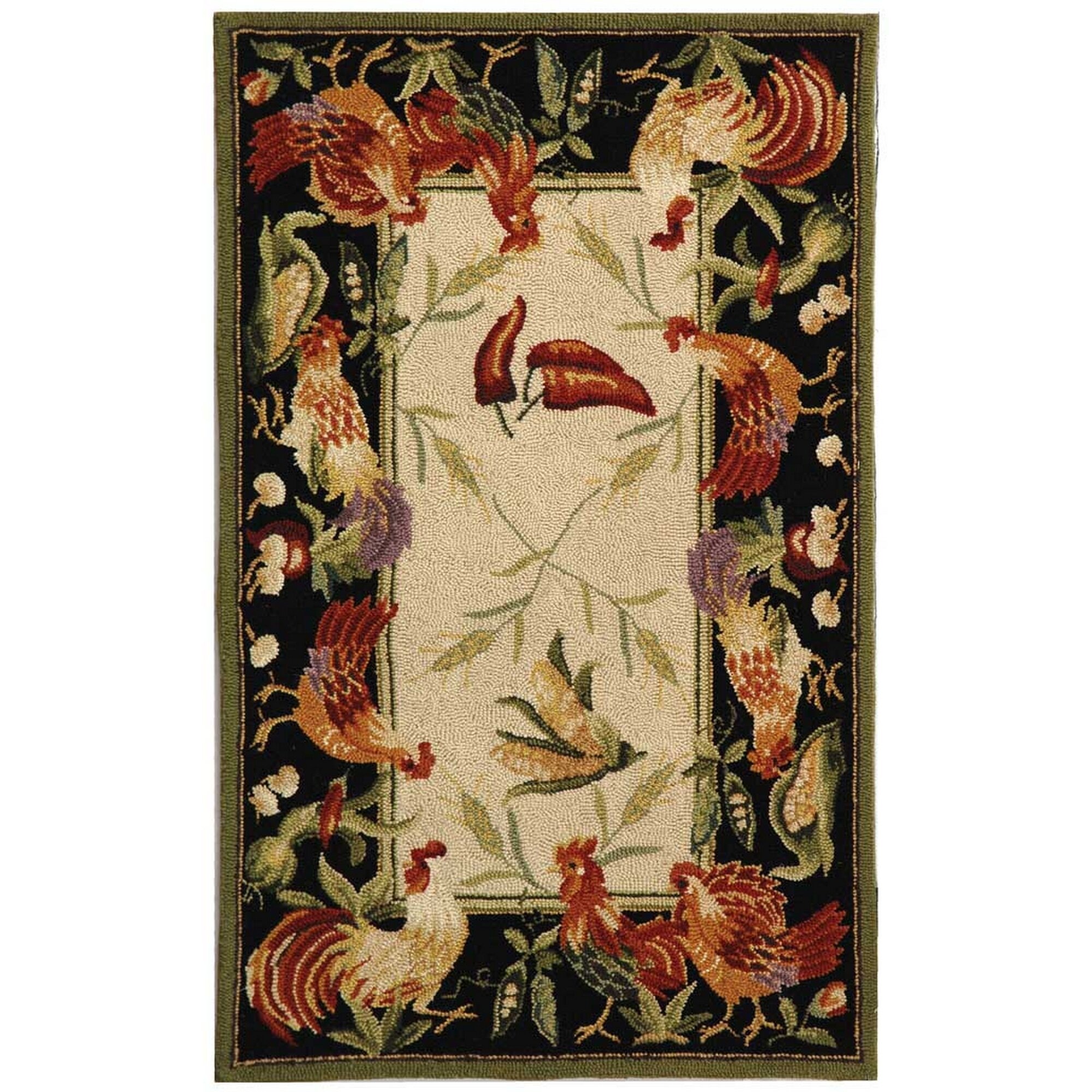 Safavieh Chelsea Leaf And Chicken Novelty Area Rug