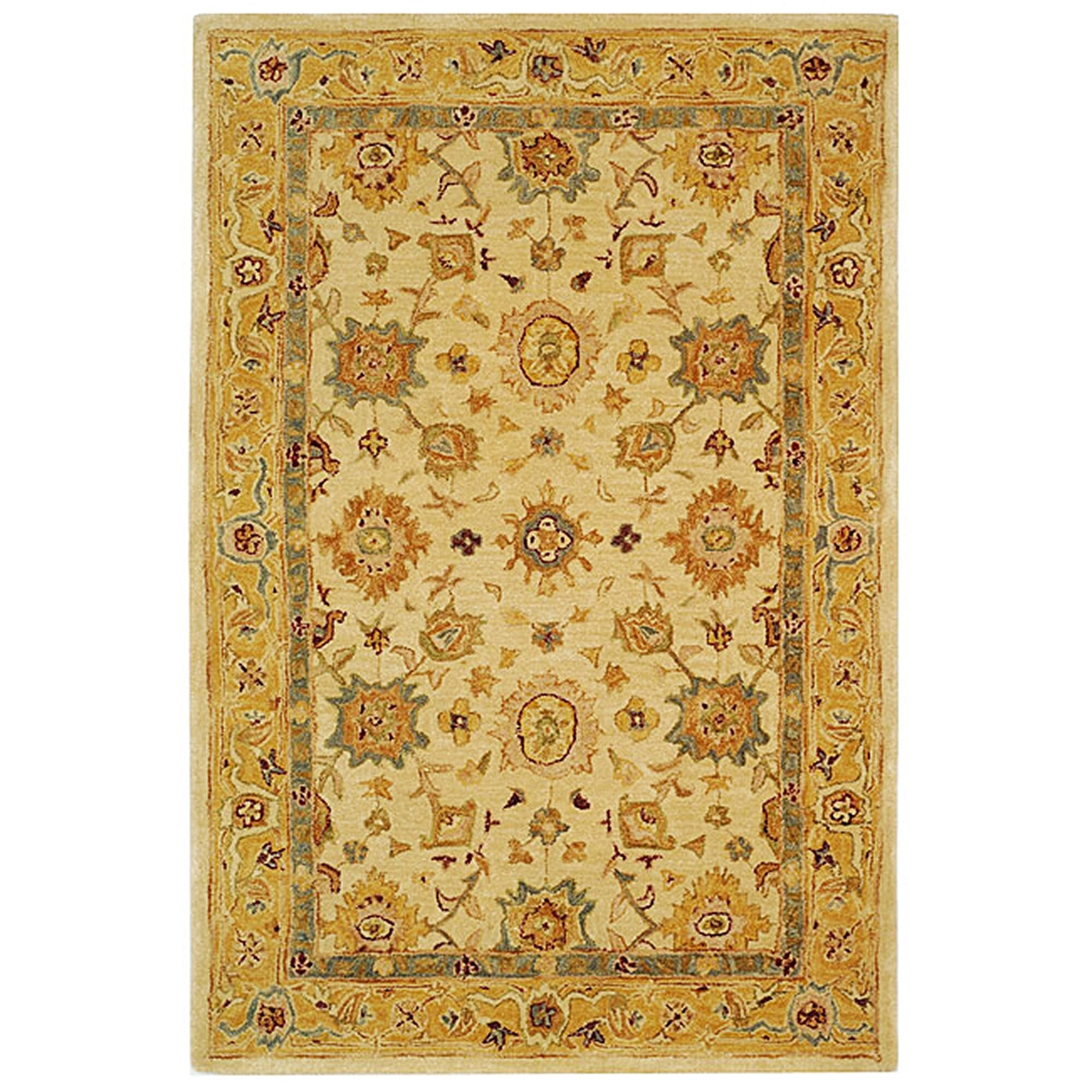 Safavieh Anatolia Ivory Gold Area Rug Amp Reviews Wayfair