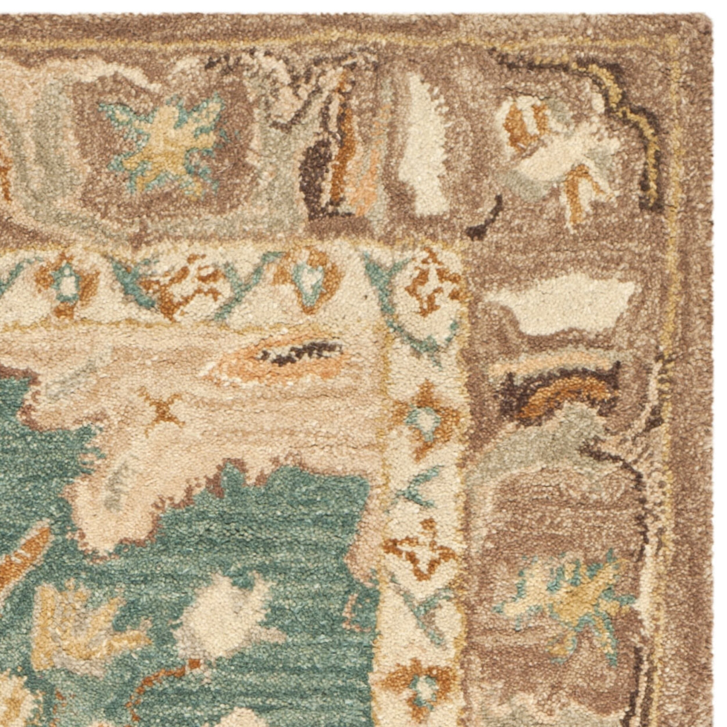 Safavieh Anatolia Teal/Camel Area Rug & Reviews
