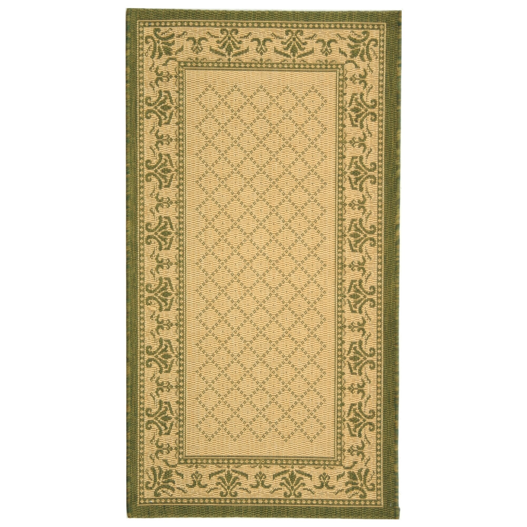 safavieh courtyard natural olive outdoor rug reviews
