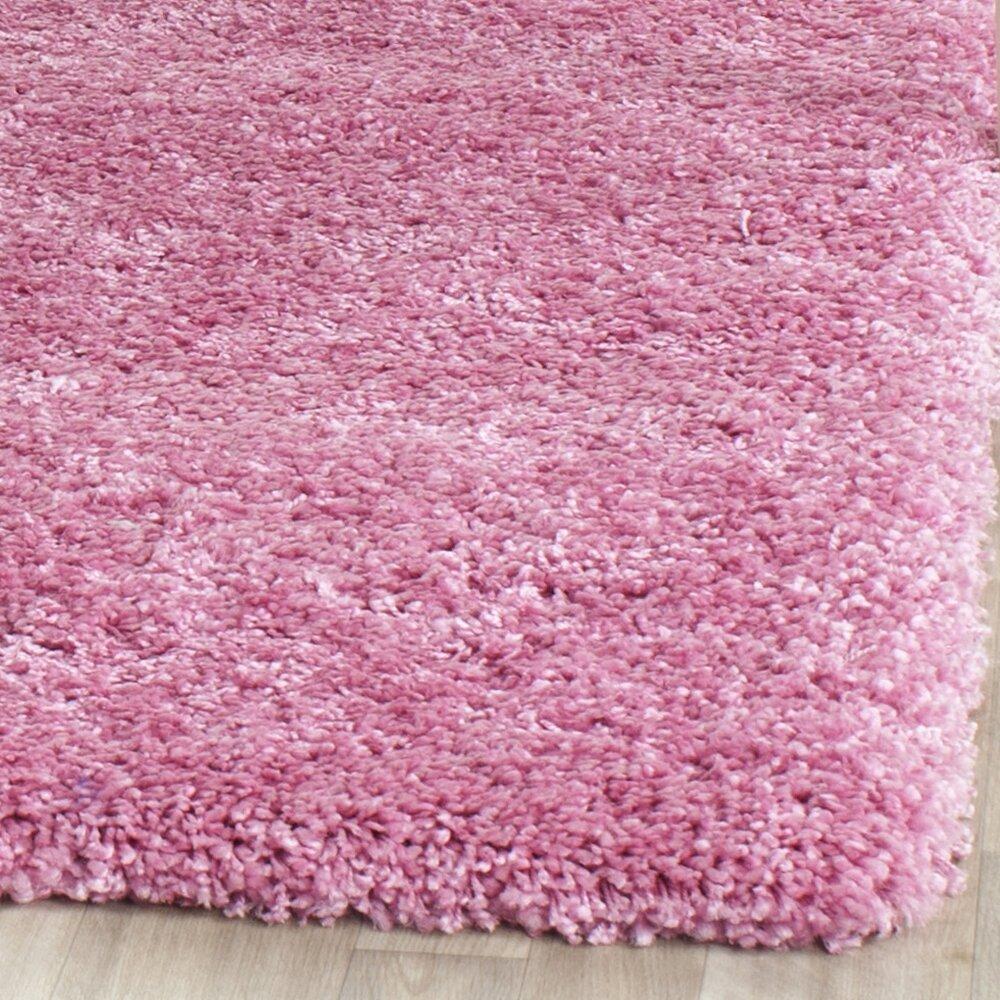 Safavieh Shag Pink Indoor Area Rug & Reviews