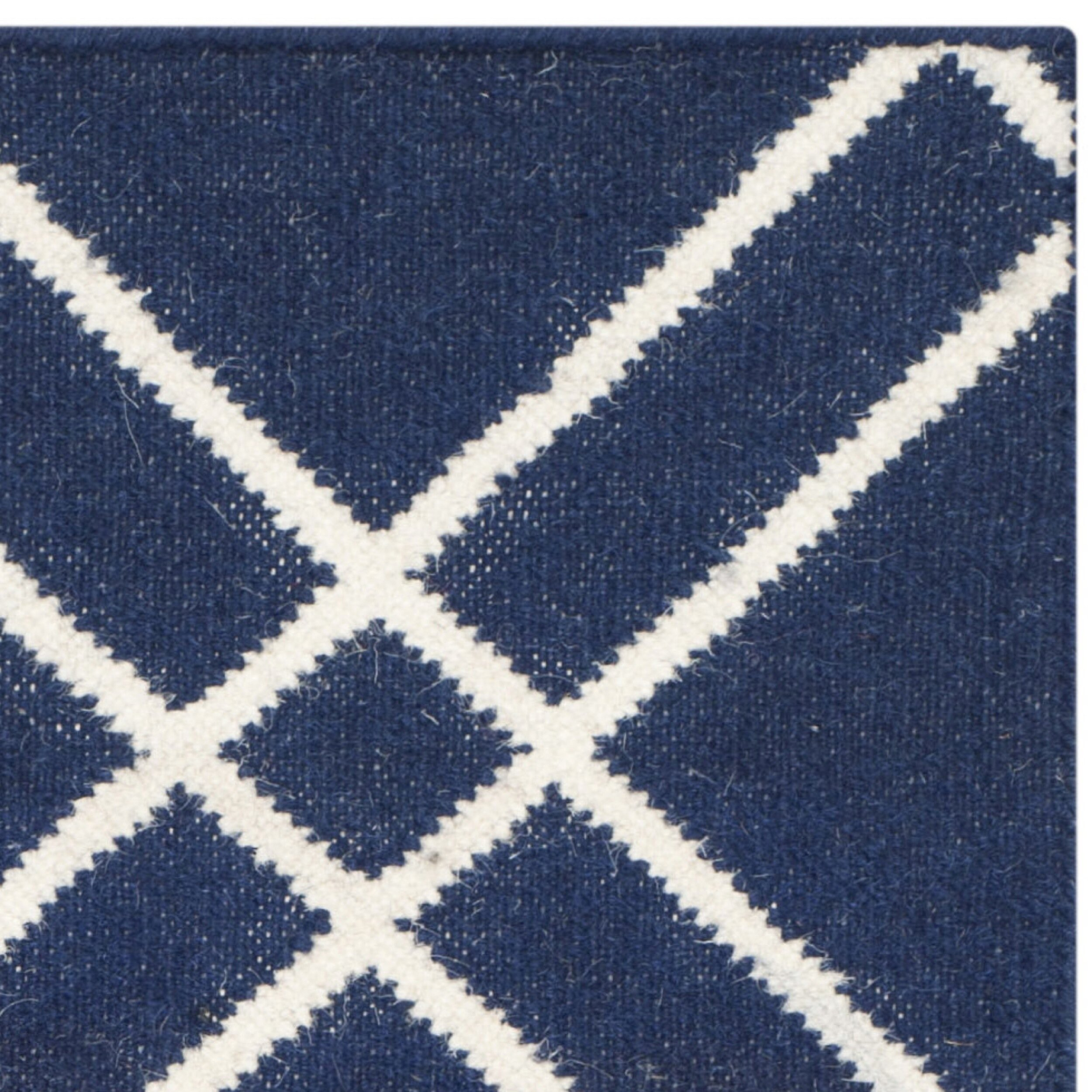 28 navy white area rug mercury row tabris navy white area r