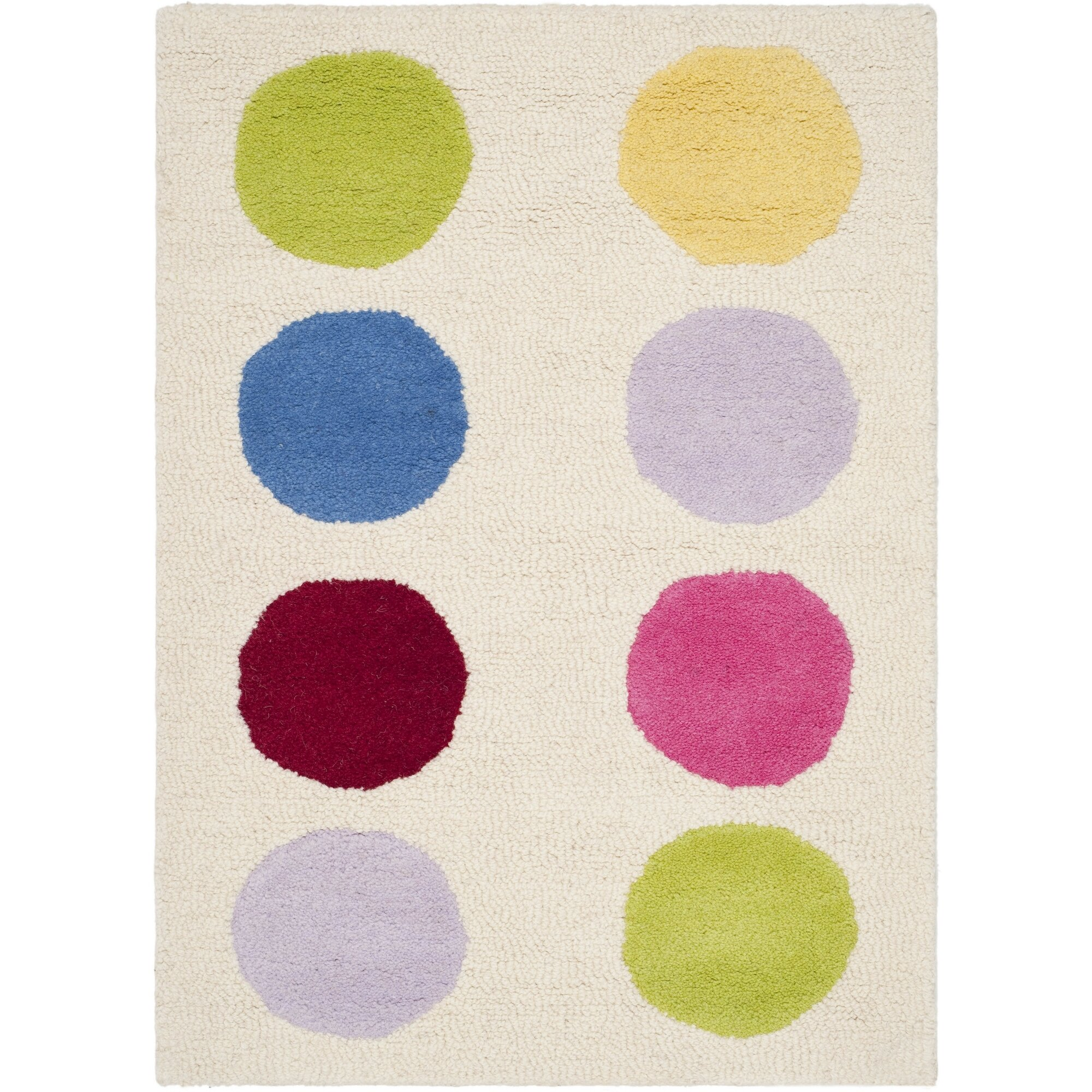 Safavieh Polka Dot Area Rug & Reviews