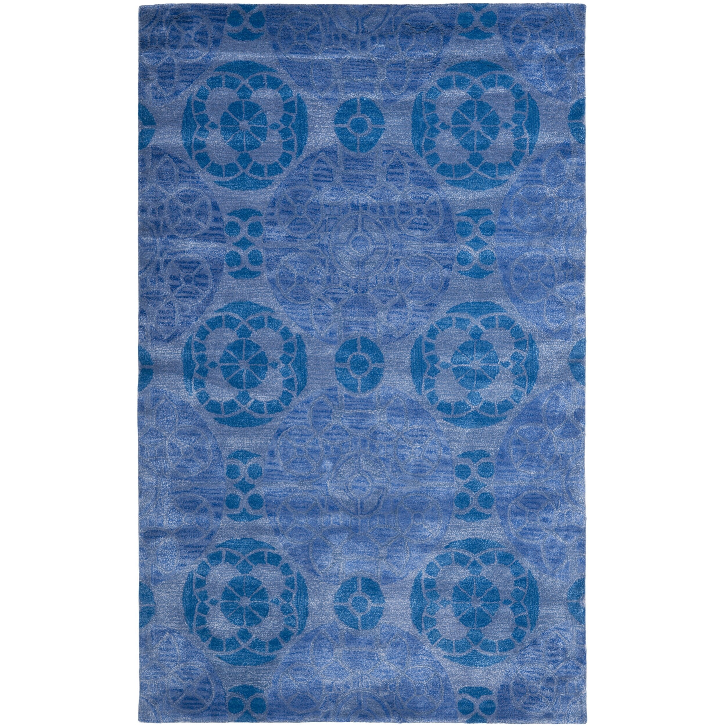 safavieh wyndham blue area rug reviews wayfair