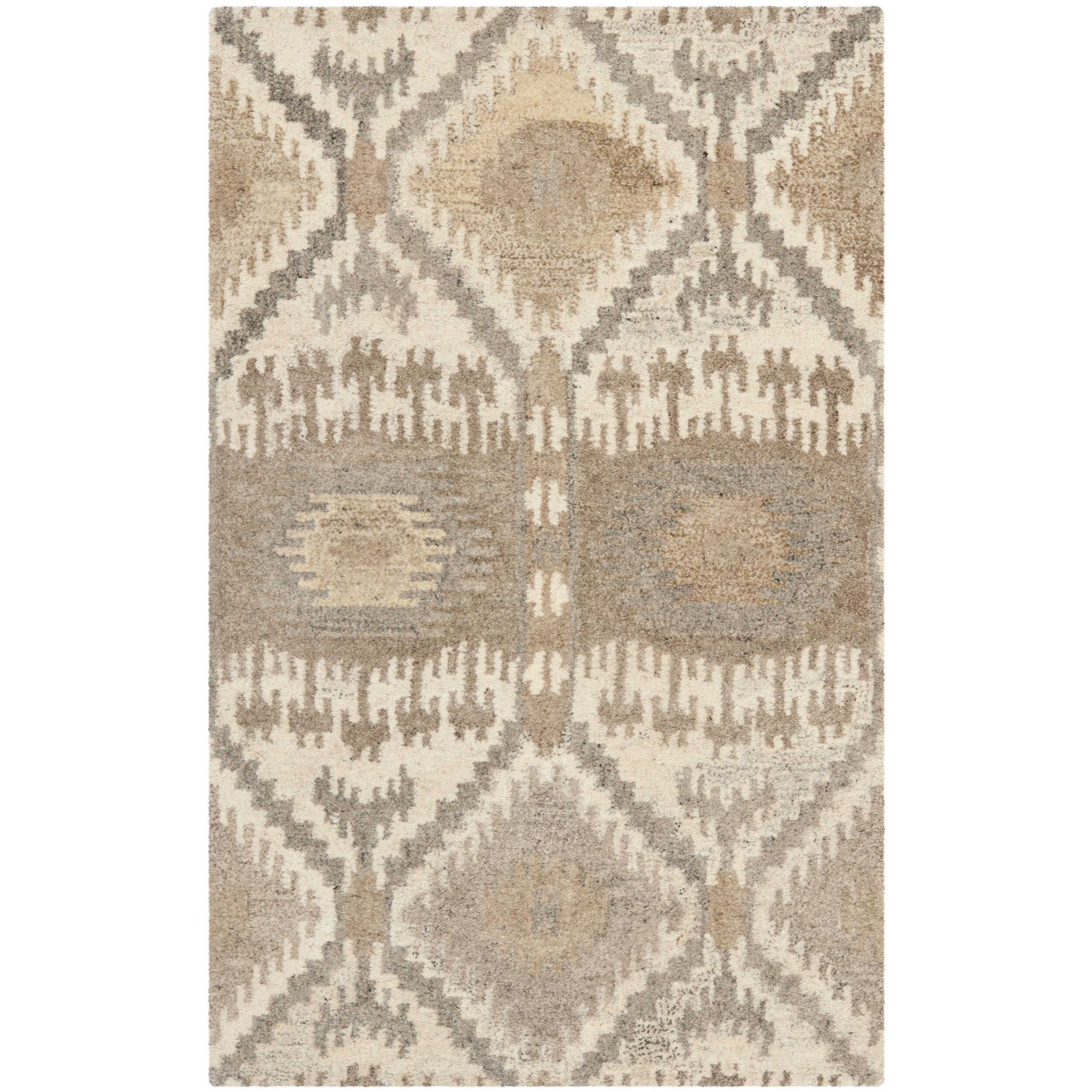Dog Eating Wool Rug: Safavieh Wyndham Brown Area Rug & Reviews