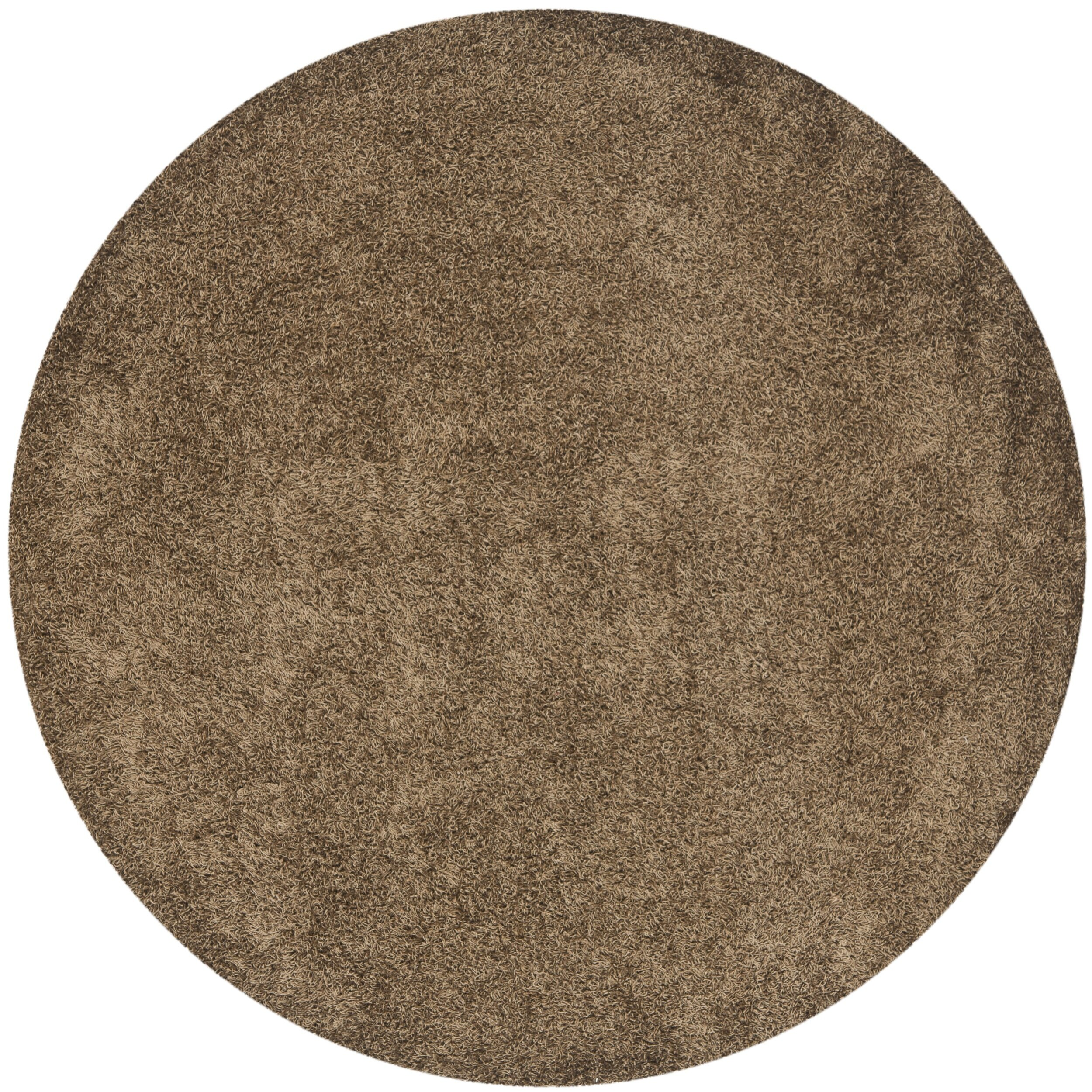 safavieh shag light brown area rug reviews wayfair. Black Bedroom Furniture Sets. Home Design Ideas
