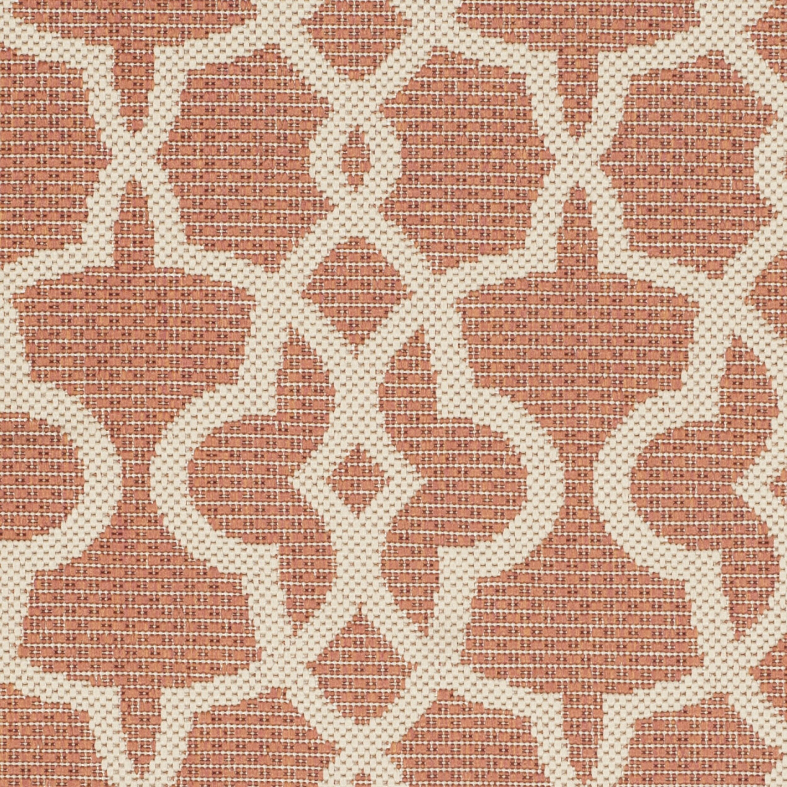Safavieh Courtyard Terracotta Beige Rug Amp Reviews Wayfair