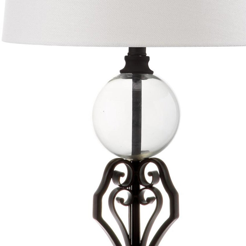 safavieh anderson 27 table lamps set of 2 reviews. Black Bedroom Furniture Sets. Home Design Ideas