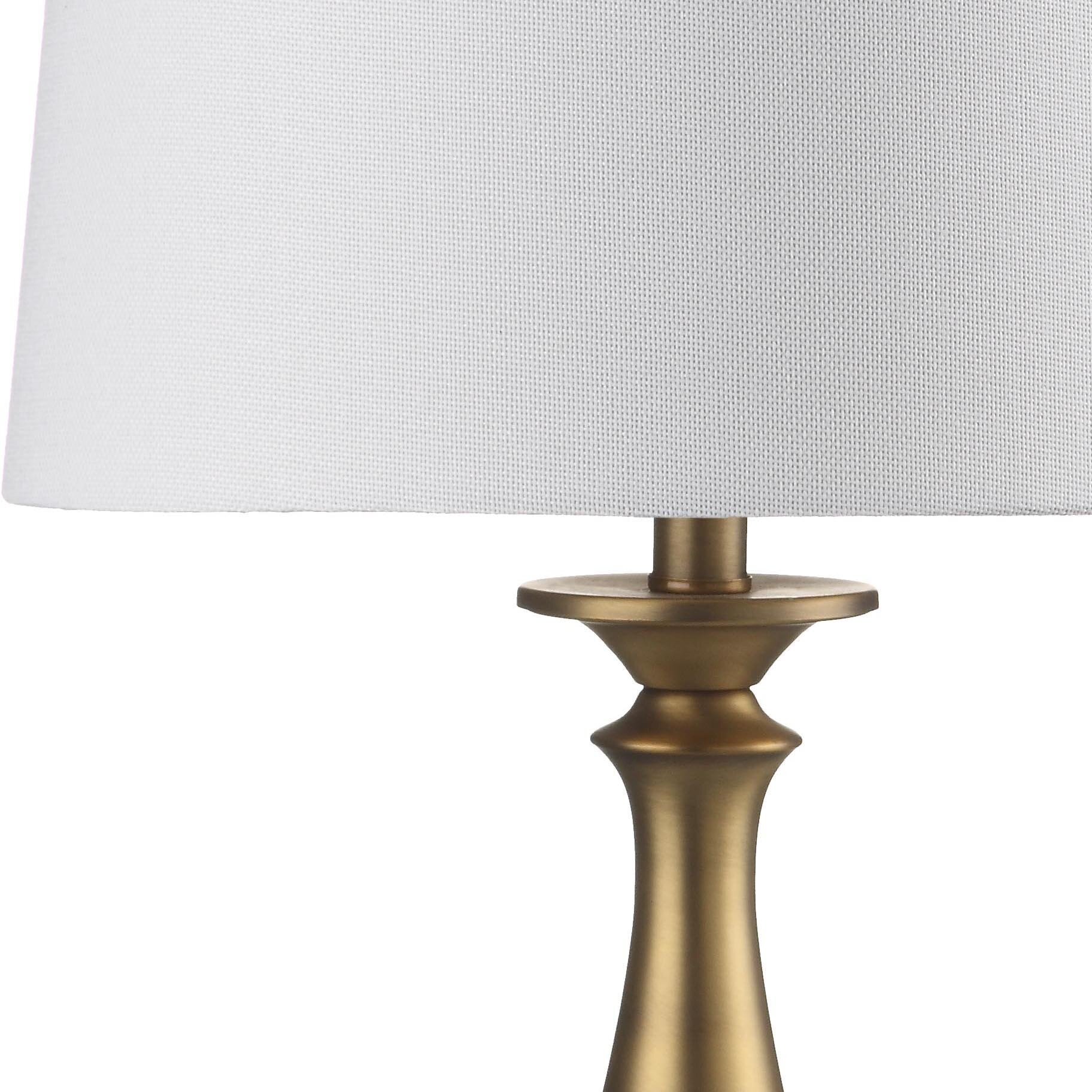 Safavieh brighton candlestick 29 table lamps set of 2 for Wayfair industrial lamp