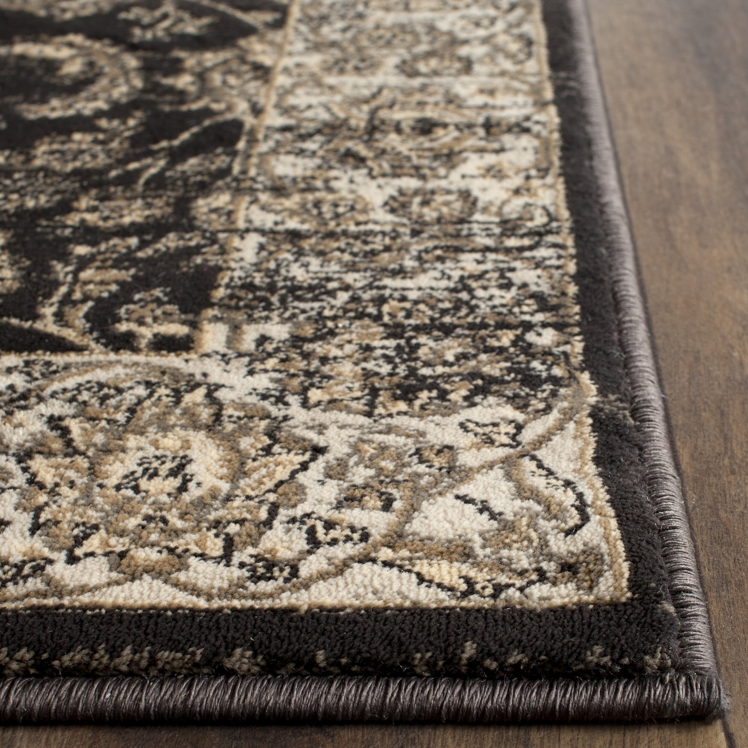 Safavieh Vintage BlackIvory Area Rug amp Reviews Wayfair : Safavieh Vintage Black Ivory Area Rug VTG571F from www.wayfair.com size 2500 x 2500 jpeg 1603kB