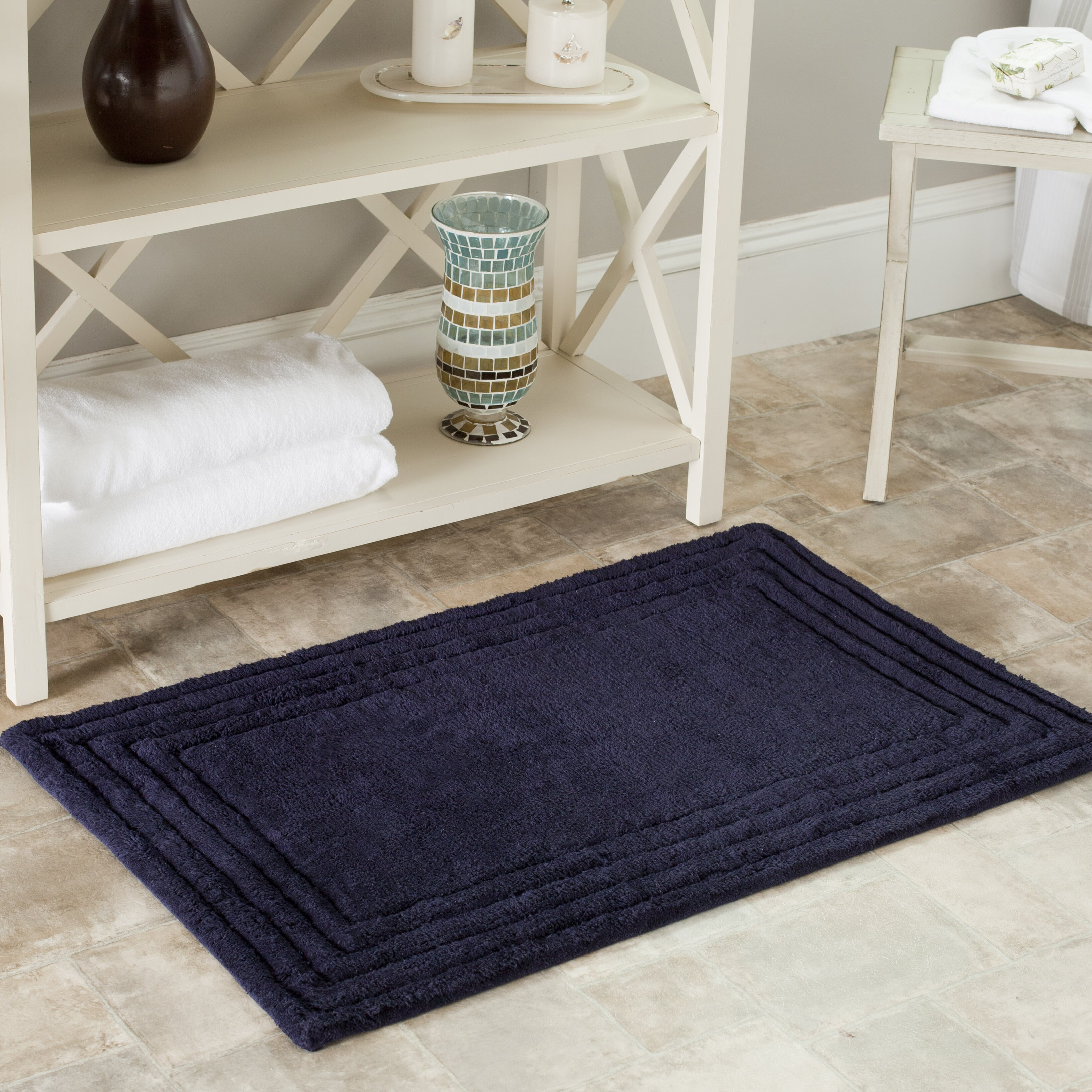 Plush Bathroom Rug Sets: Safavieh Plush Master Bath Rug II & Reviews
