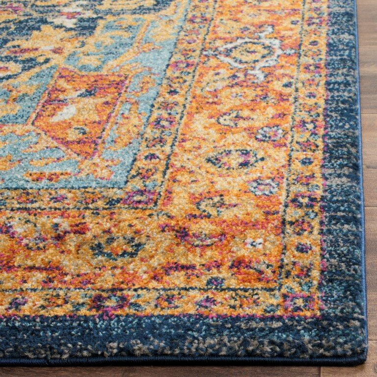 Safavieh Evoke BlueOrange Area Rug amp Reviews Wayfair : Safavieh Evoke Blue Orange Area Rug EVK275C from www.wayfair.com size 768 x 768 jpeg 317kB
