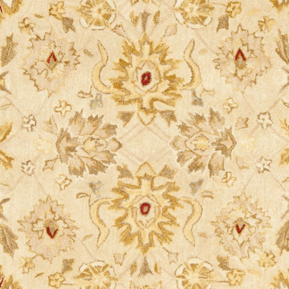 Safavieh Anatolia Ivory/Red Area Rug u0026 Reviews : Wayfair