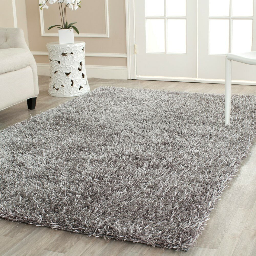 safavieh paris handmade gray area rug reviews wayfair. Black Bedroom Furniture Sets. Home Design Ideas