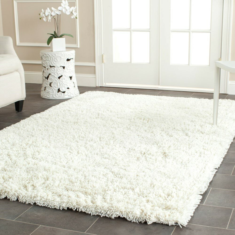 Safavieh Shag Ivory Area Rug Amp Reviews Wayfair