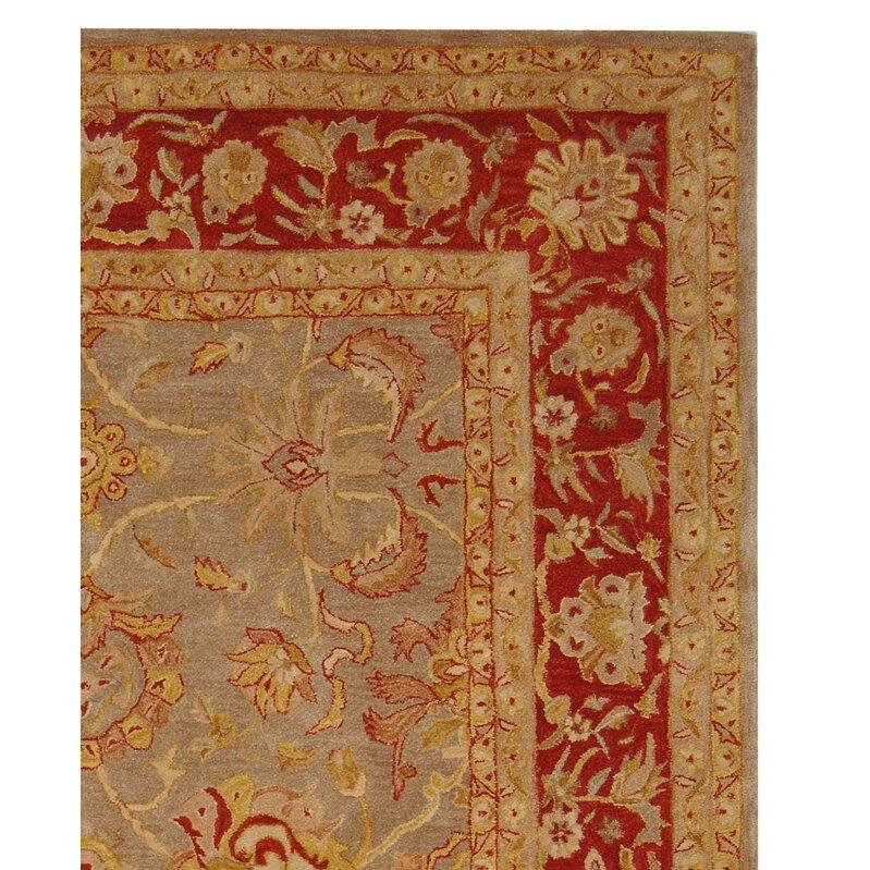 Safavieh Anatolia Grey/Red Area Rug & Reviews