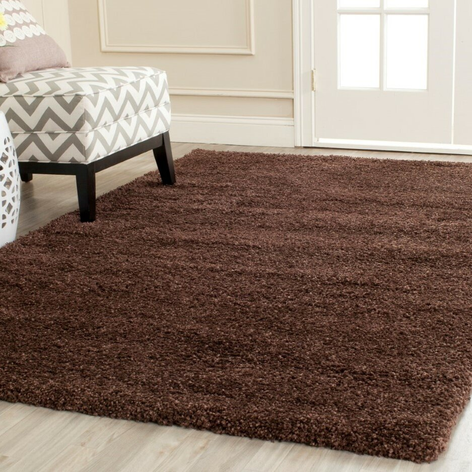 Safavieh Milan Shag Brown Rug Amp Reviews