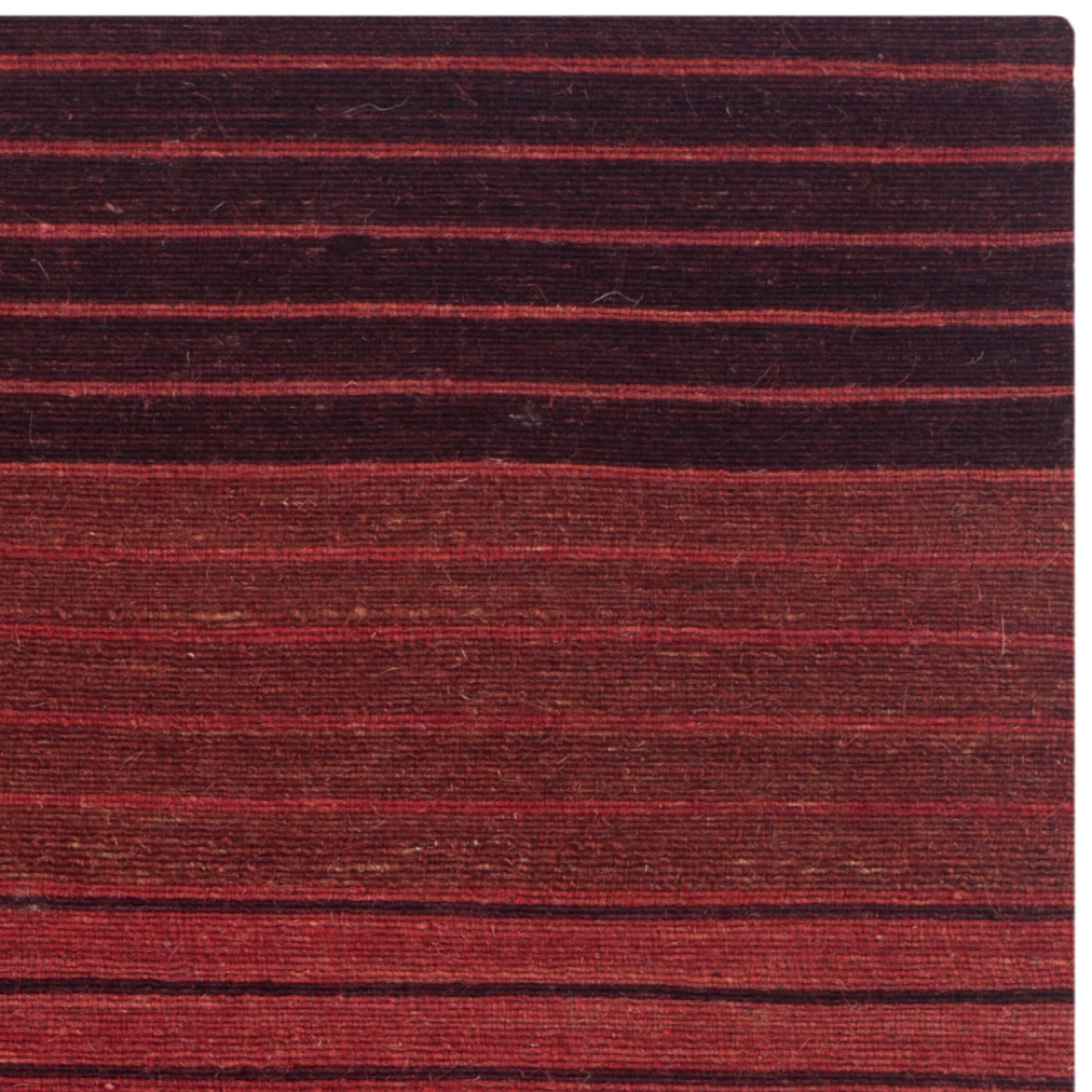 Safavieh marbella striped contemporary red area rug for Red area rugs contemporary