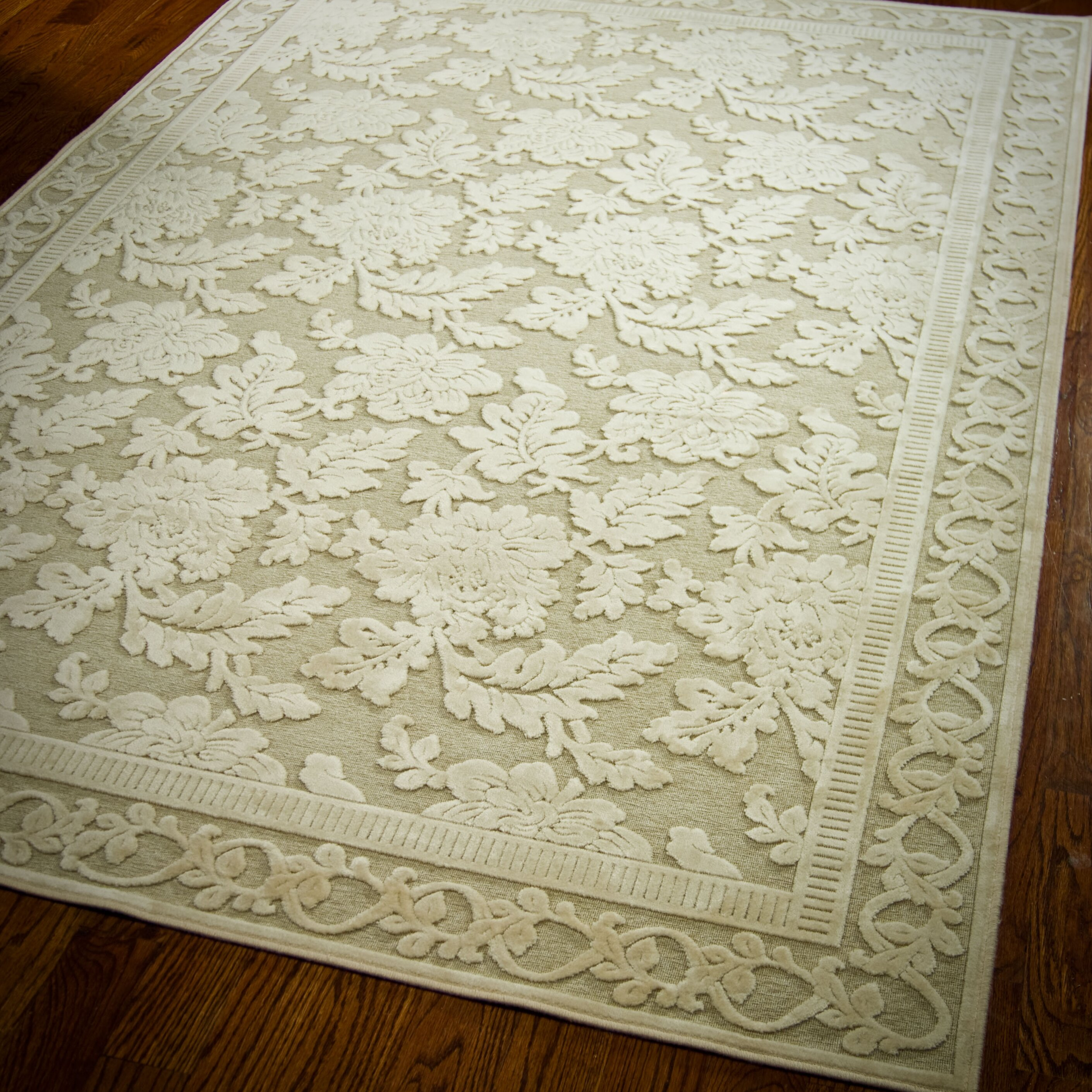 Safavieh Martha Stewart Peony Creme Area Rug Reviews Wayfair