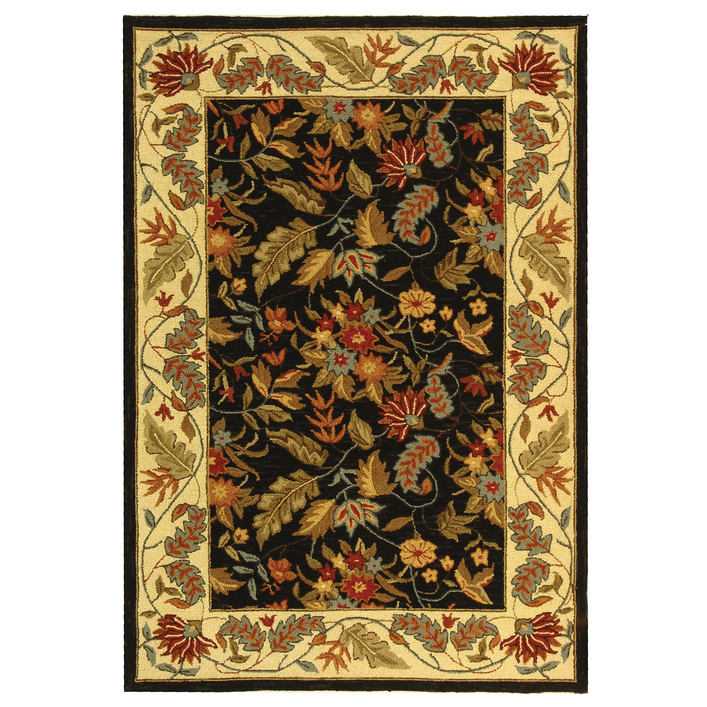 safavieh chelsea kathleen floral area rug cheerful home office rug wayfair safavieh