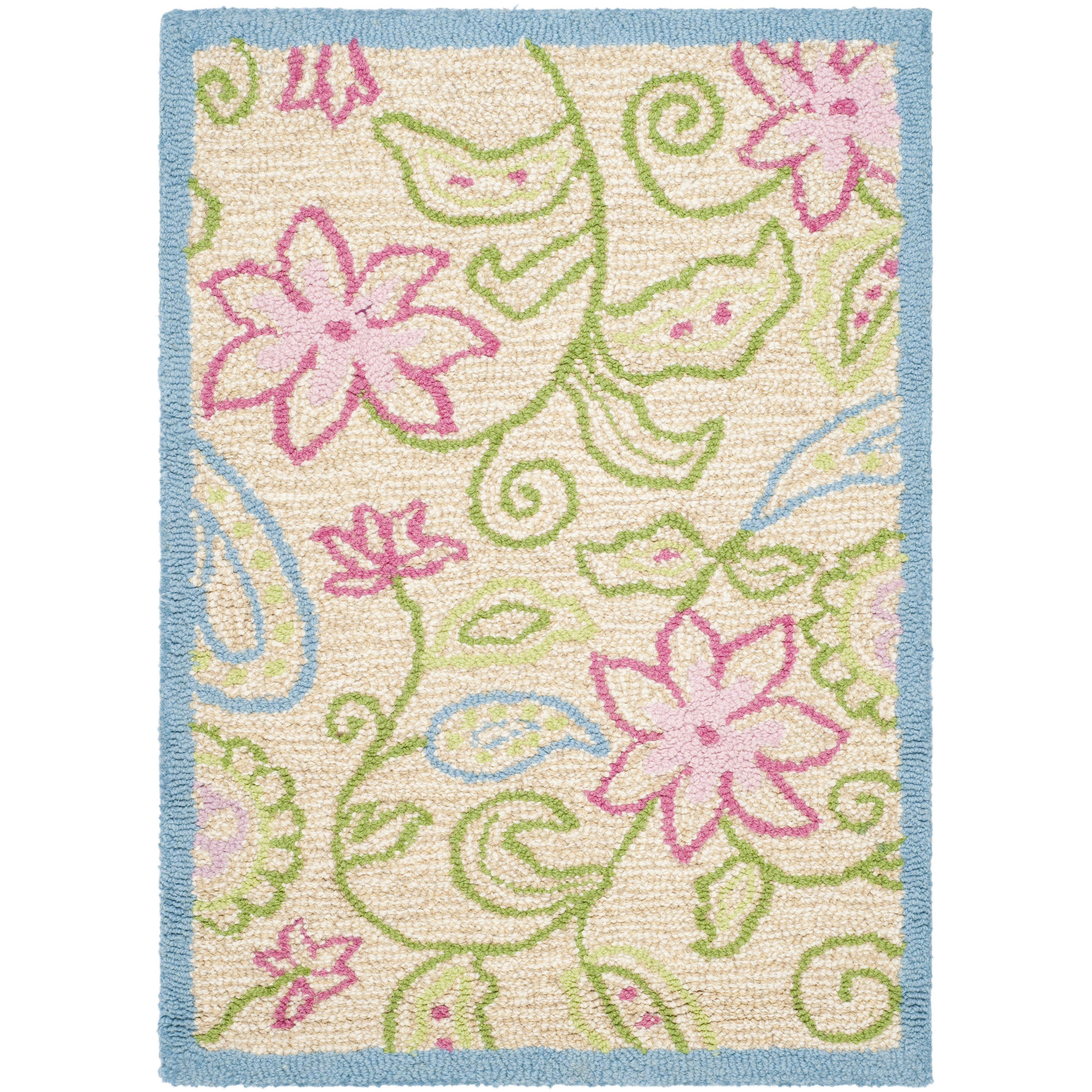 safavieh damask kids area rug cheerful home office rug wayfair safavieh